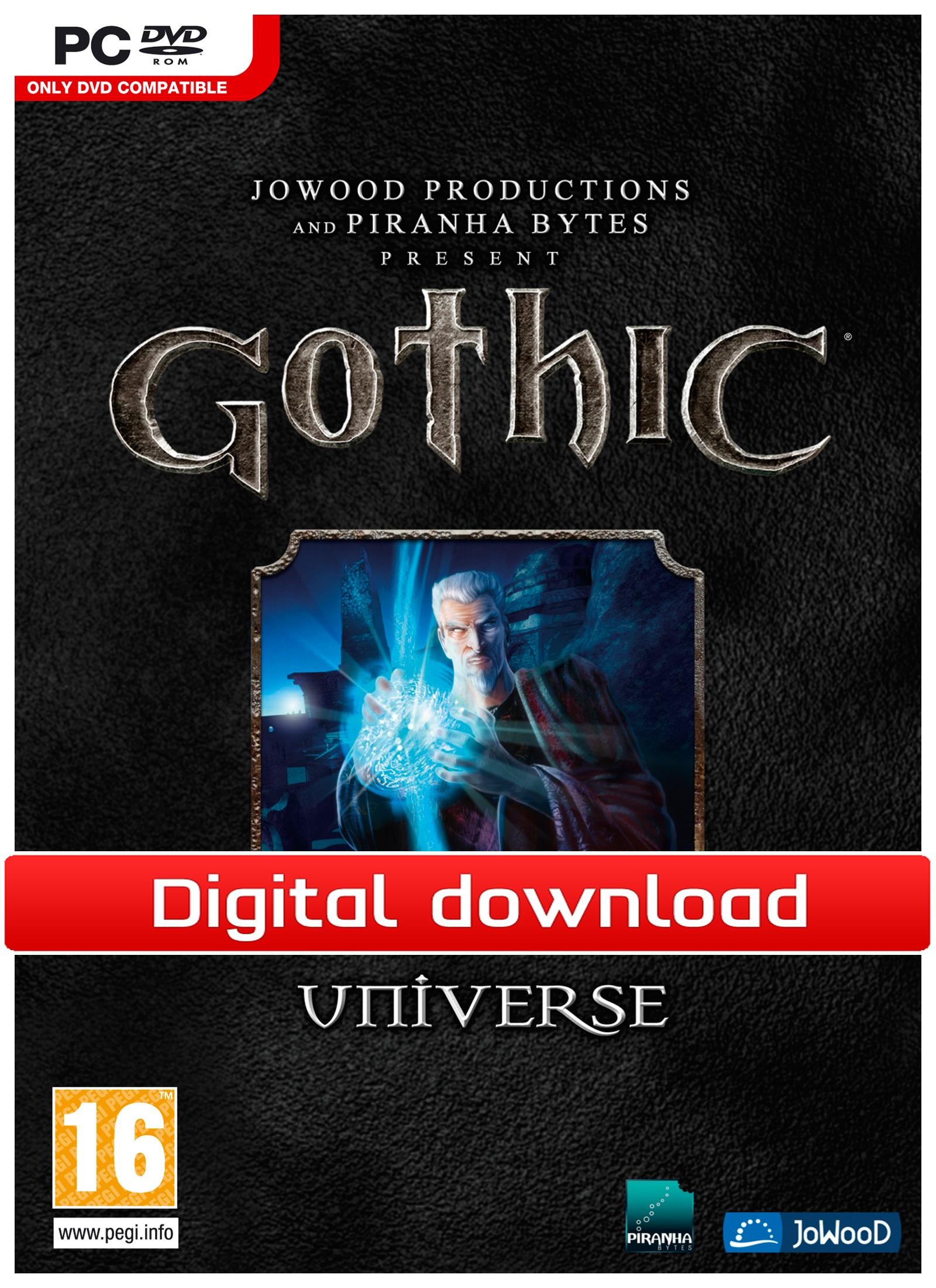 Gothic Universe (PC nedlastning) PCDD34816