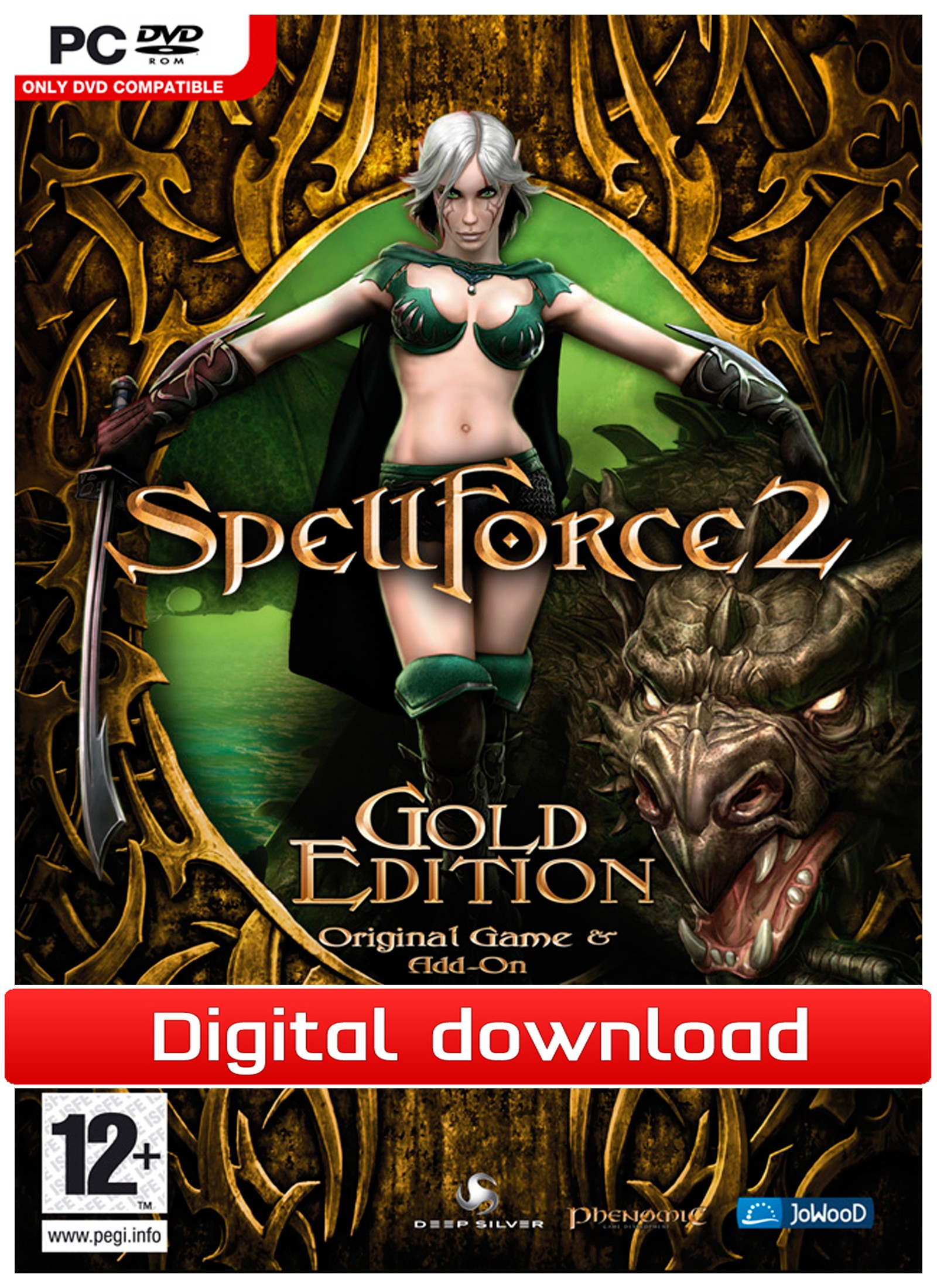 34820 : Spellforce 2 Gold (PC nedlastning)