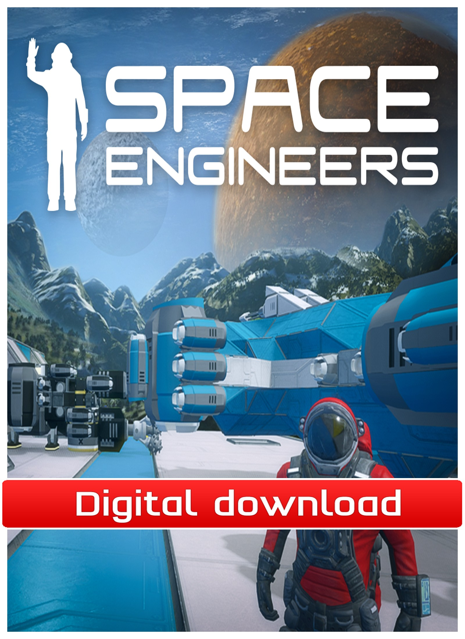 35059 : Space Engineers - Early Access (PC nedlastning)