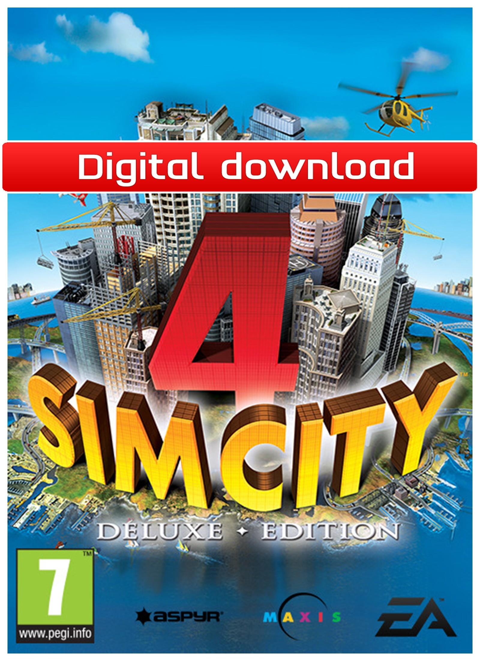 SimCity 4 Deluxe (MAC nedlastning) PCDD35108