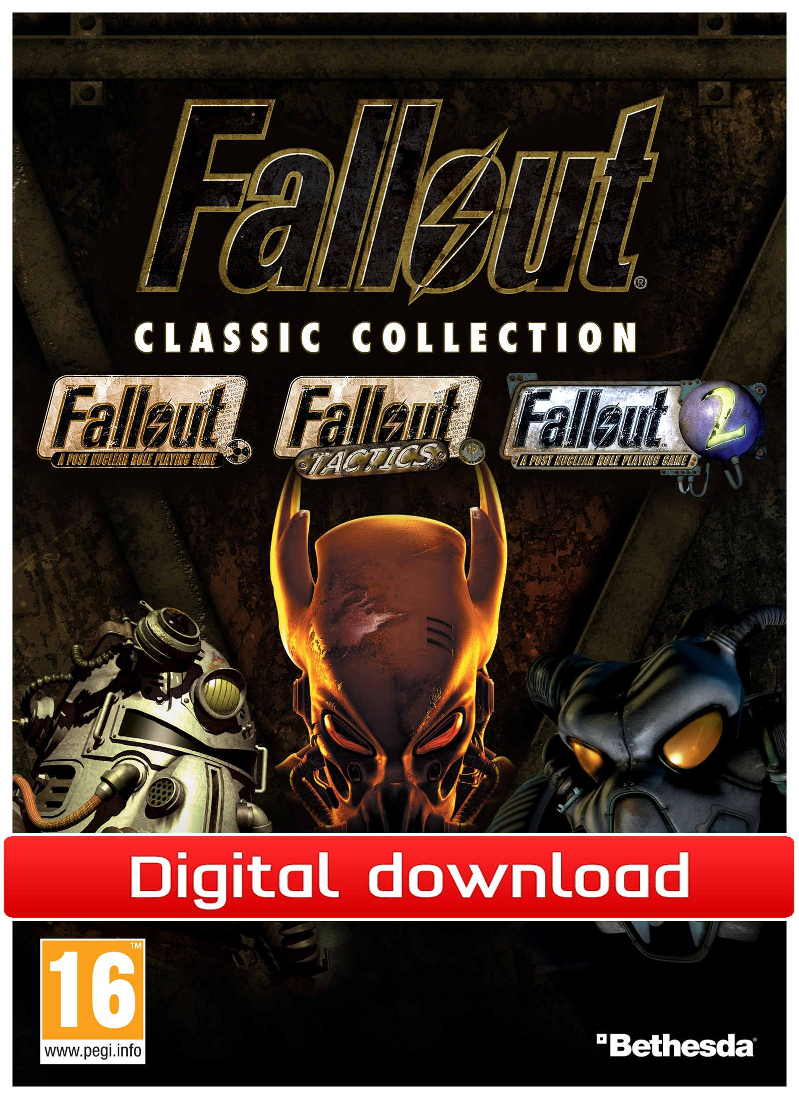 35372 : Fallout Classic Collection (PC nedlastning)