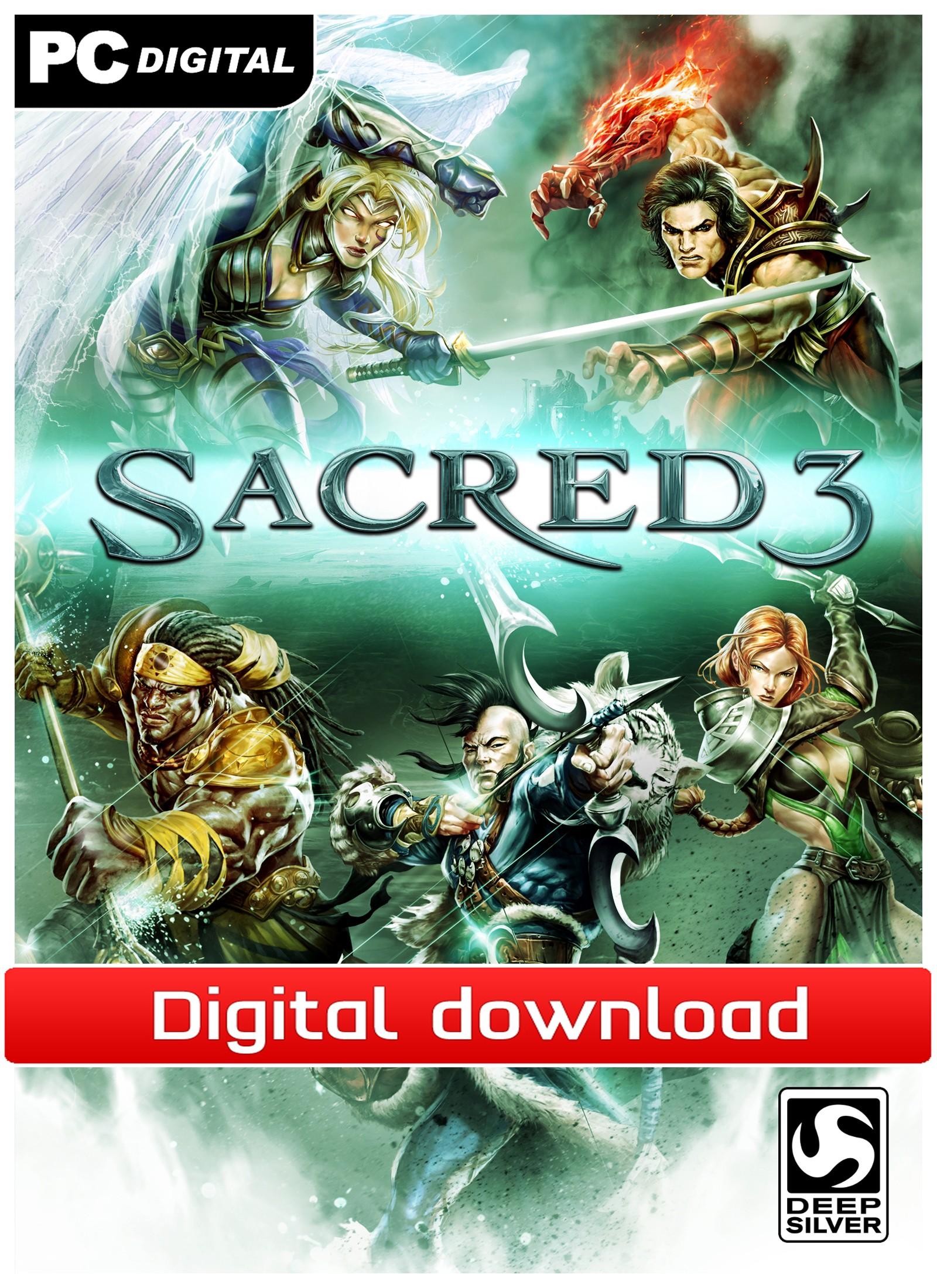35396 : Sacred 3 - Malakhim DLC (PC nedlastning)