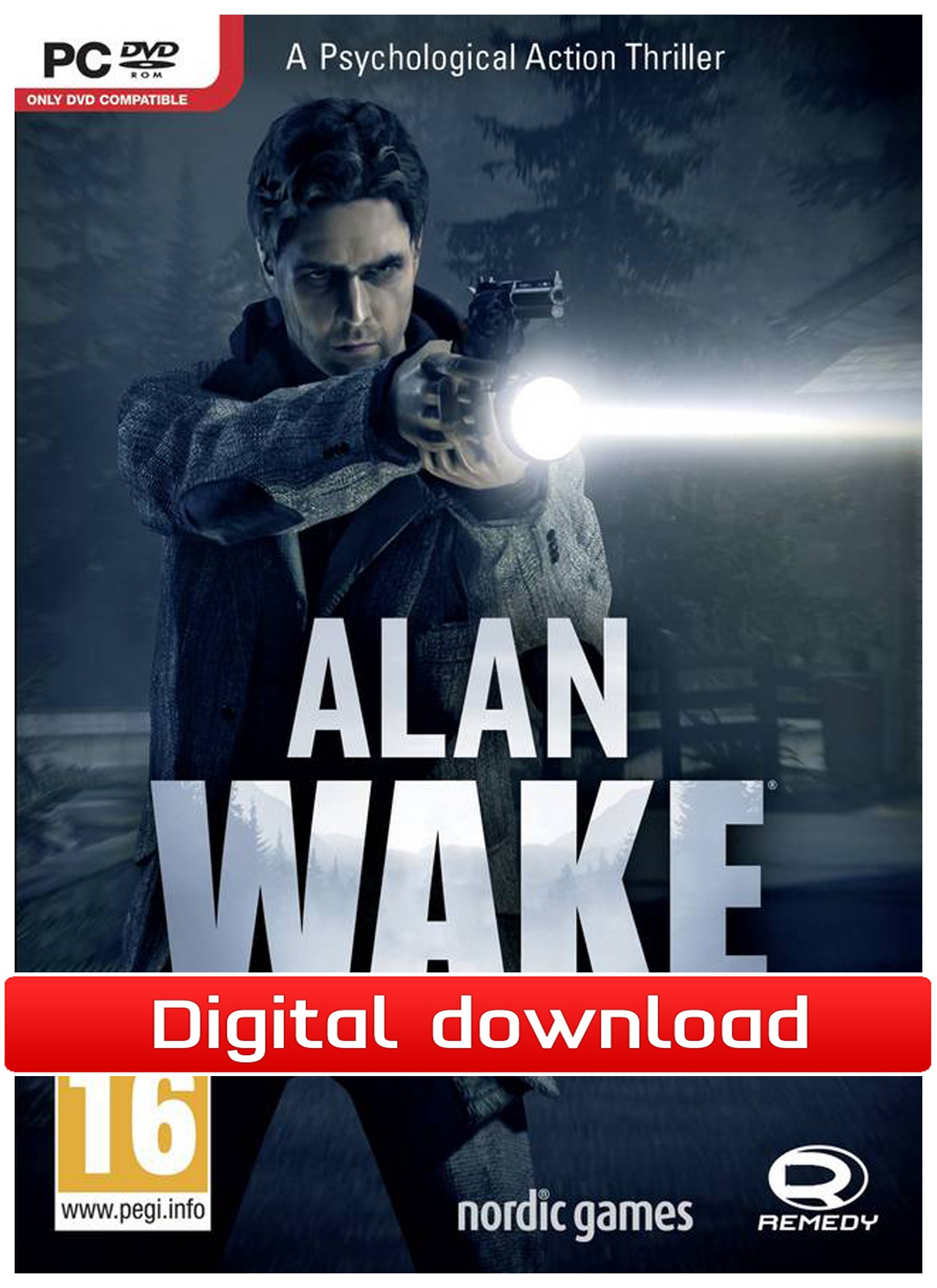 35406 : Alan Wake - Collector's Edition (PC nedlastning)