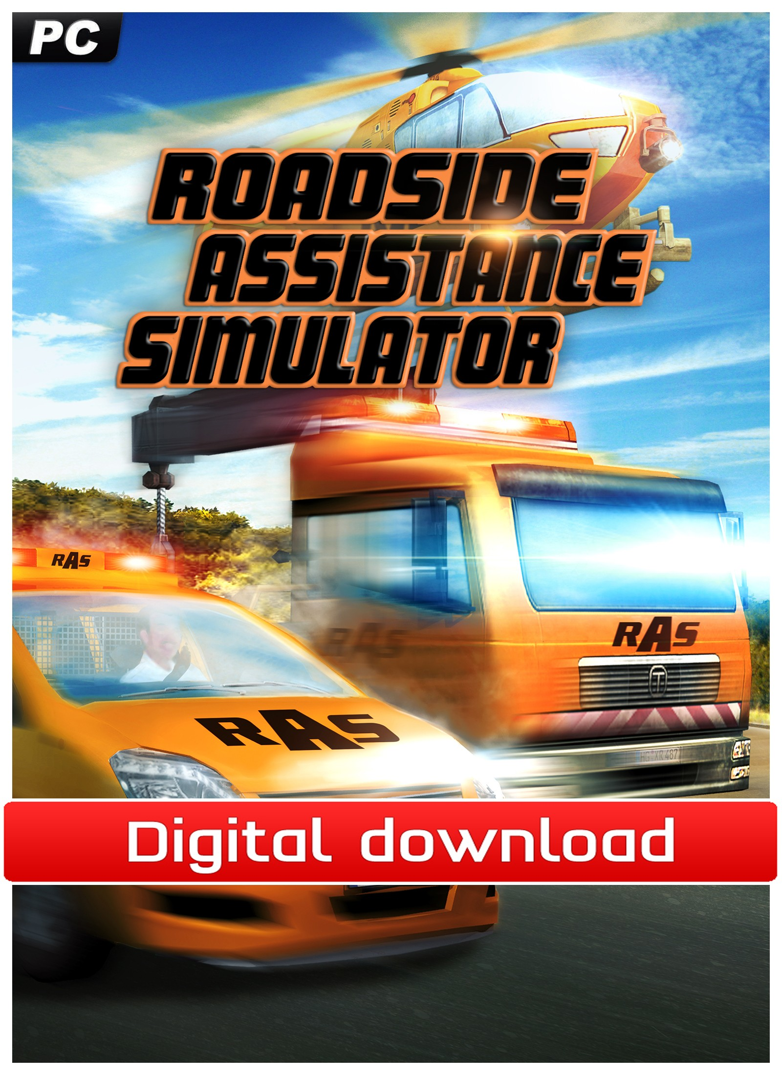 36207 : Road Assistance Simulator (PC nedlastning)