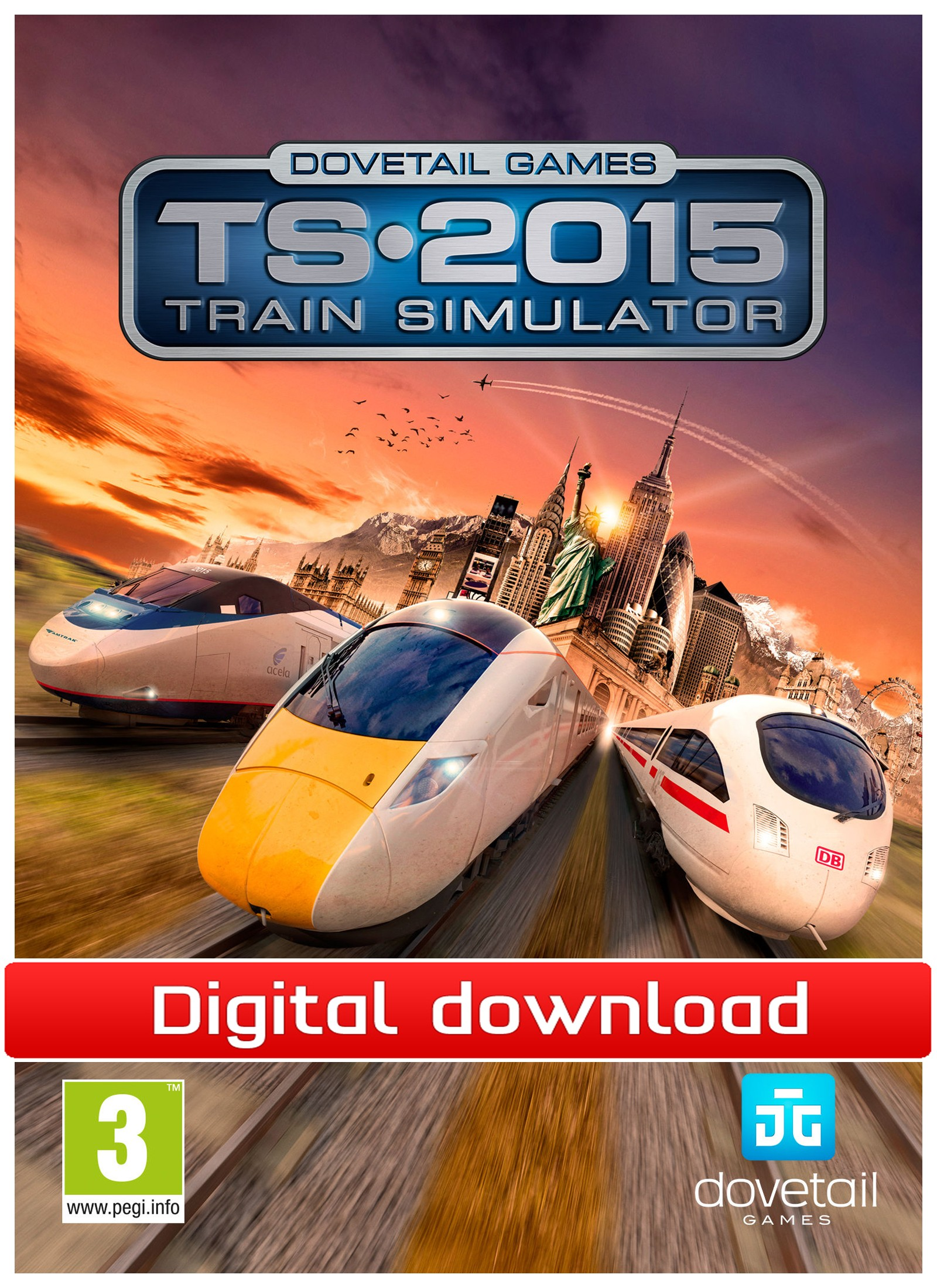 36239 : Train Simulator 2015 (PC nedlastning)