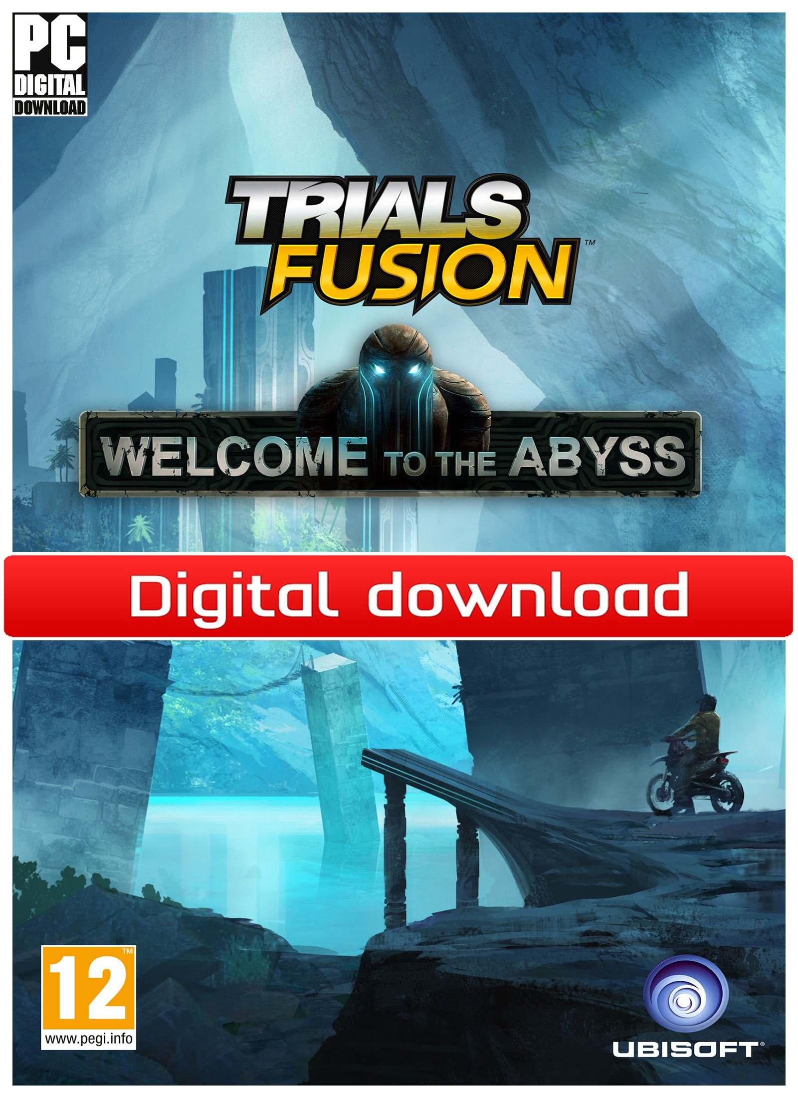 36341 : Trials Fusion - Welcome to the Abyss (PC nedlastning)