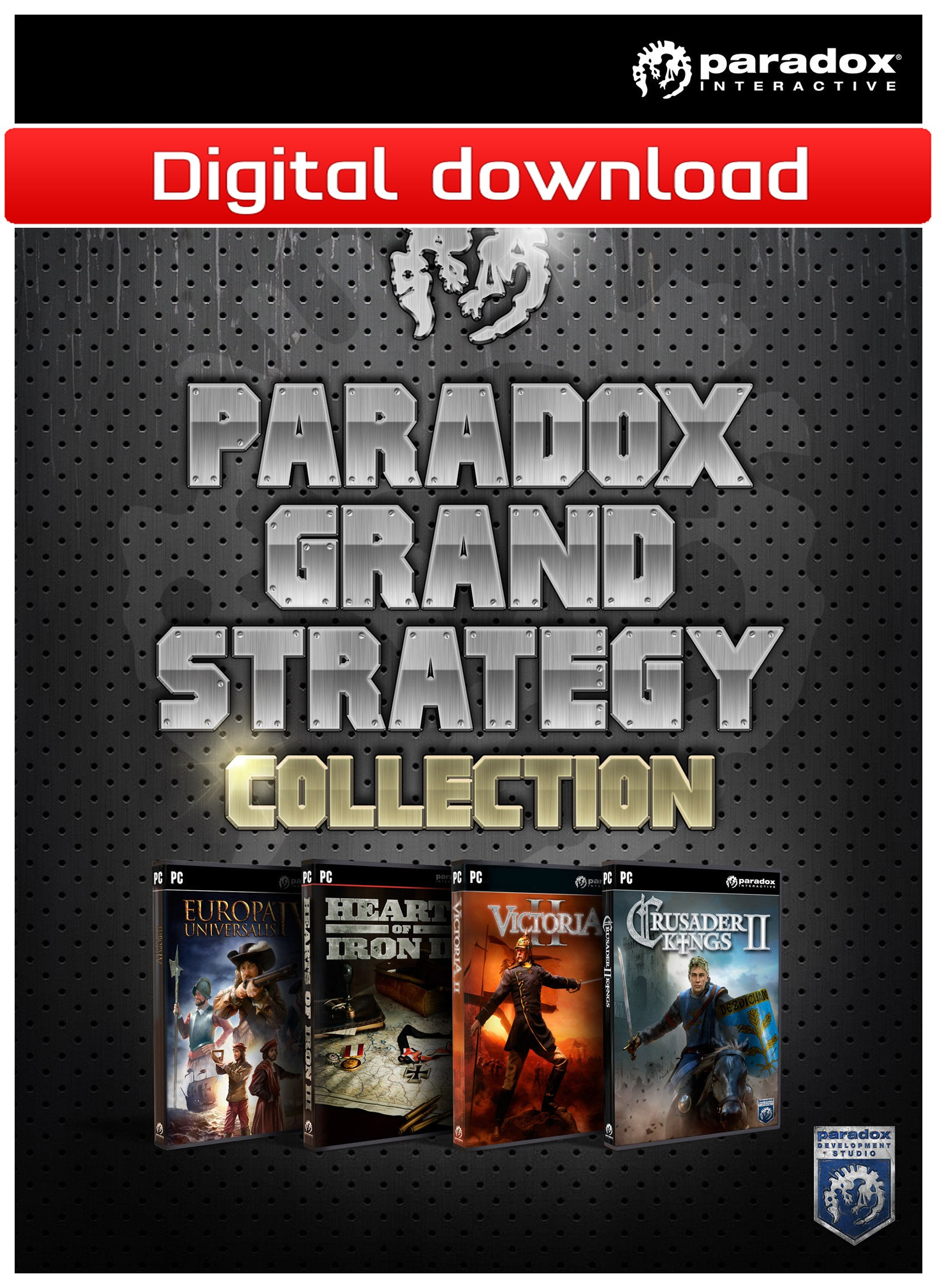 Paradox Grand Strategy (PC nedlastning) PCDD36353