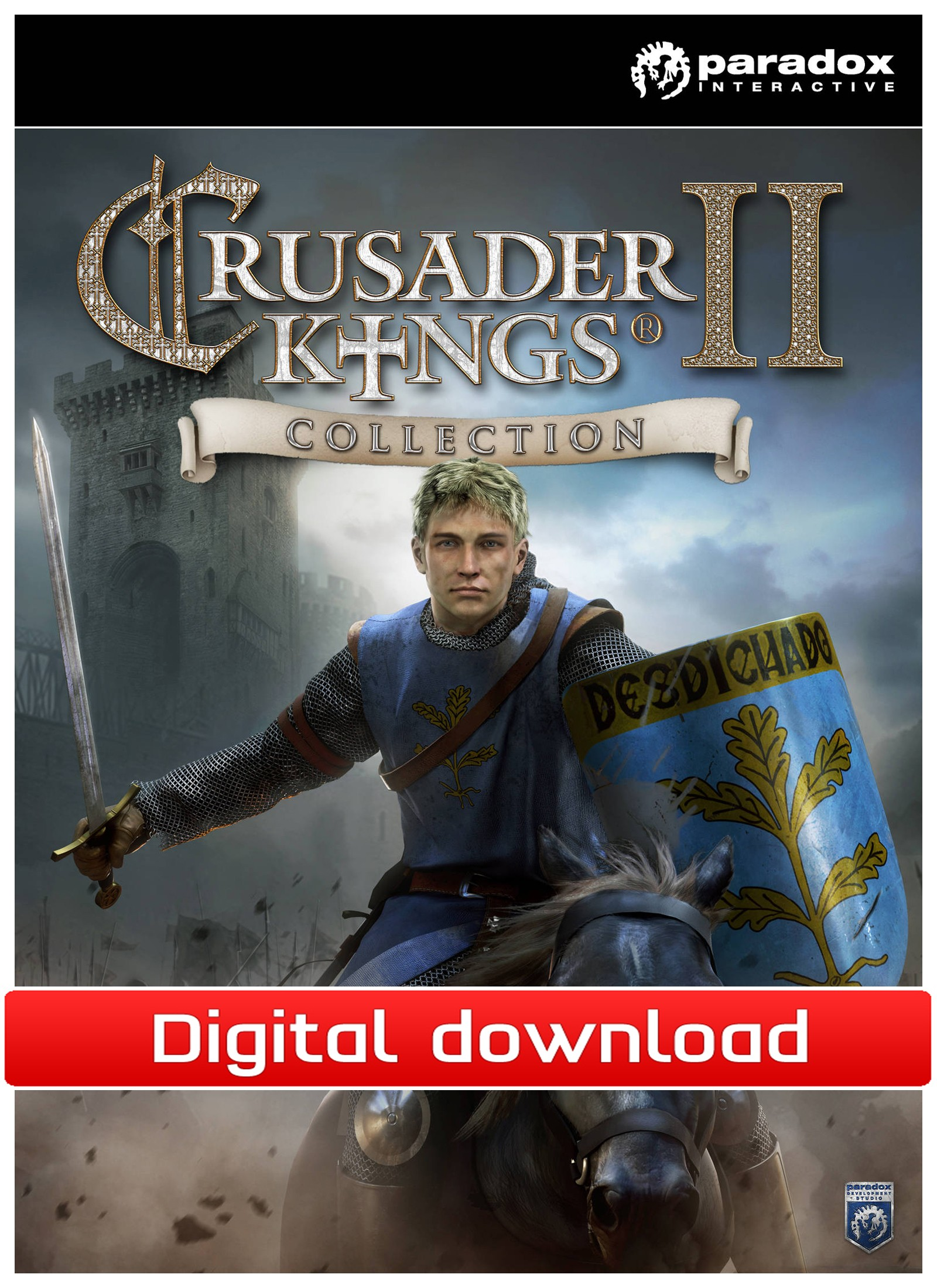 36384 : Crusader Kings II Collection (PC nedlastning)
