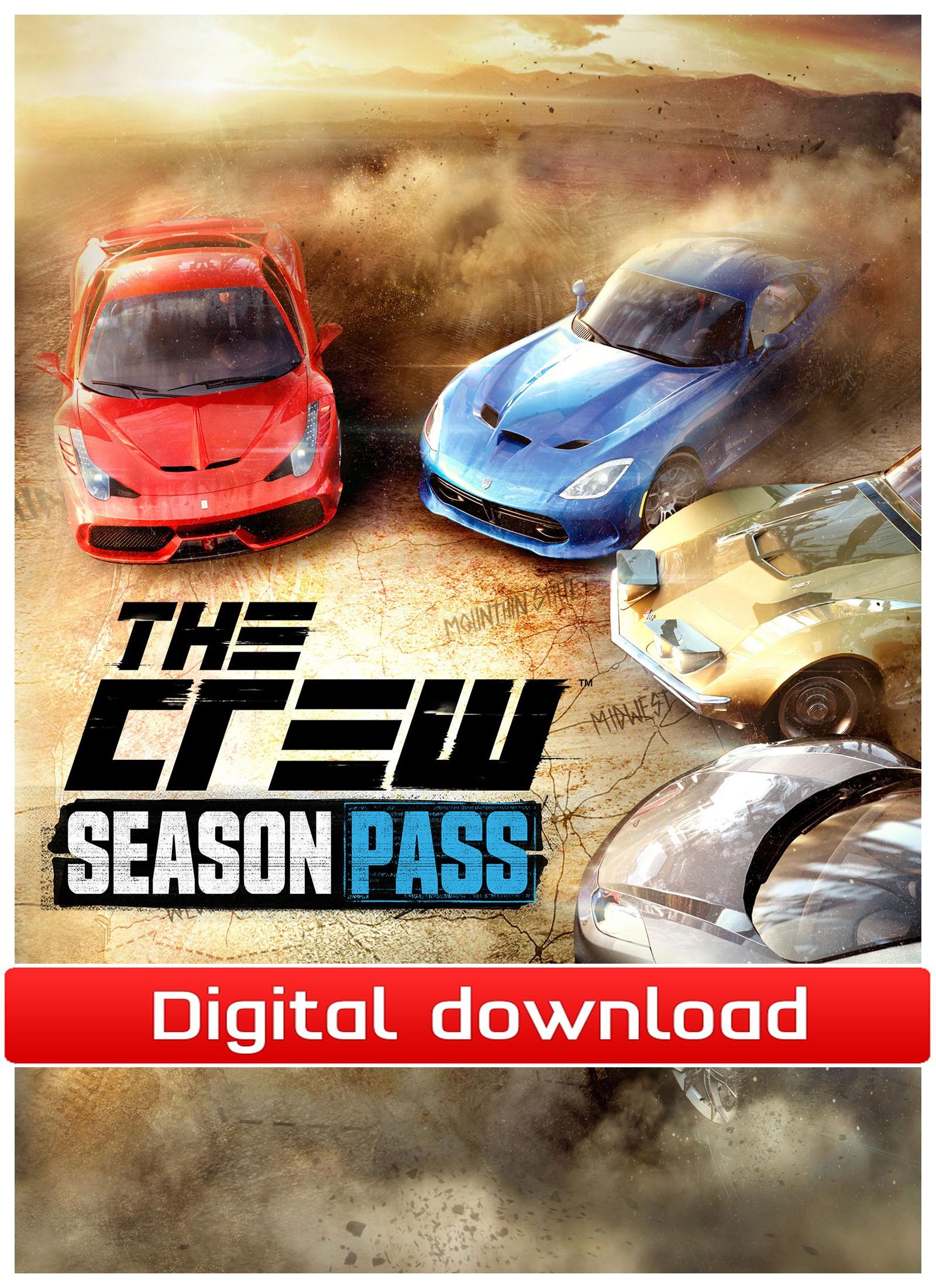 36588 : The Crew - DLC Season Pass (PC nedlastning)