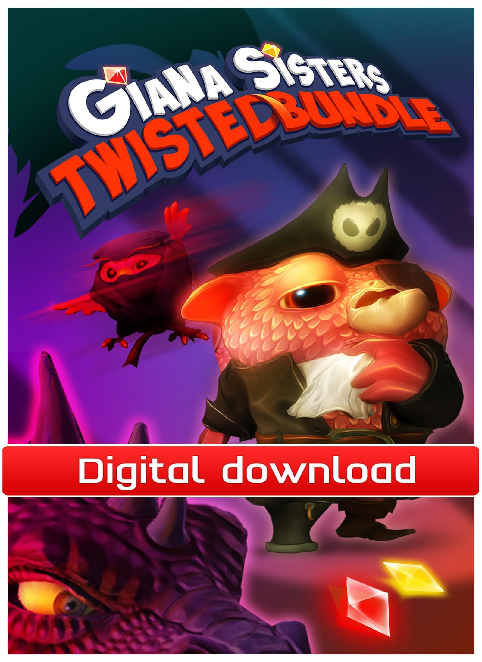 36704 : Giana Sisters: Twisted Bundle (PC nedlastning)