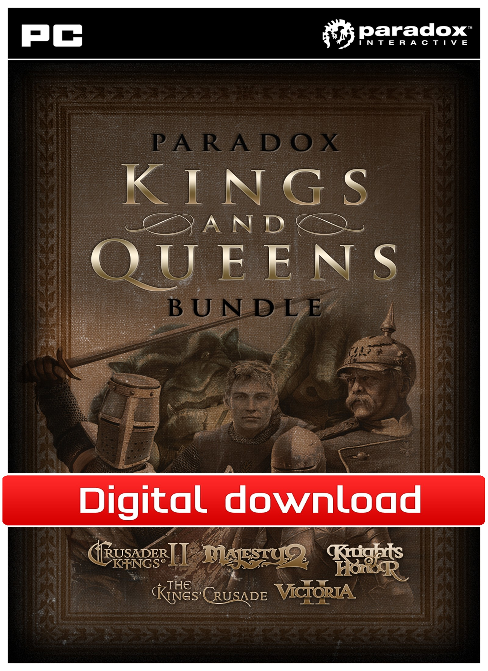 36710 : Paradox Kings and Queens Bundle (PC nedlastning)