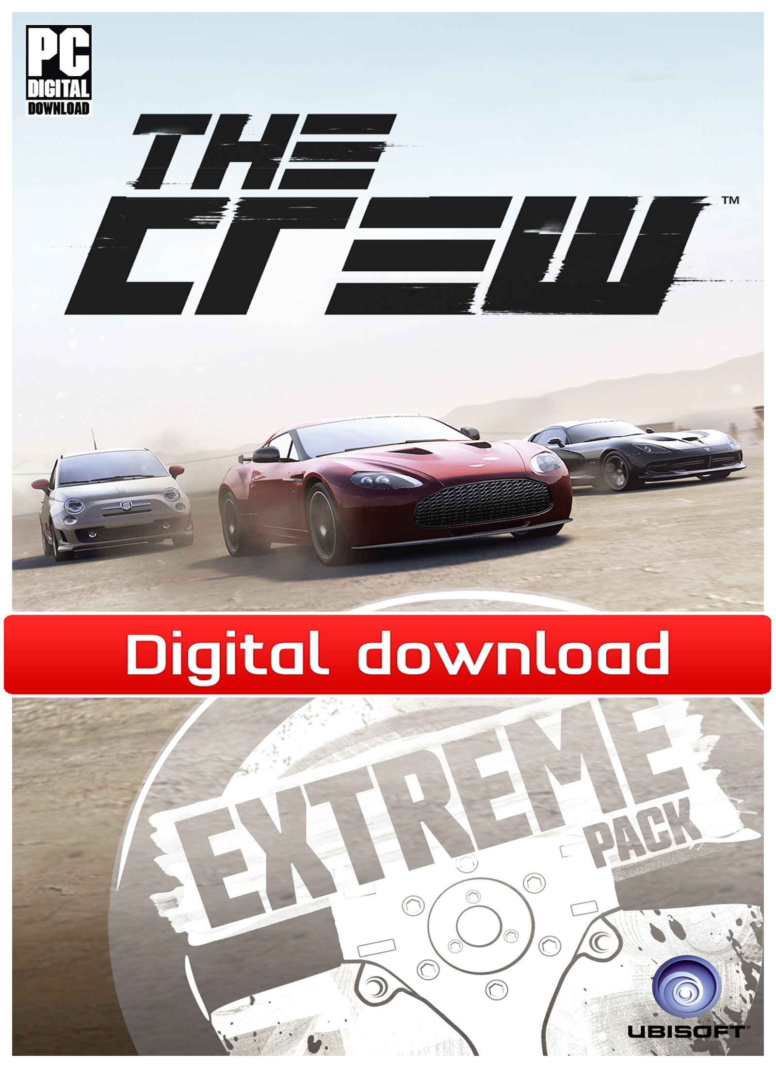 36741 : The Crew: Extreme Car Pack (PC nedlastning)