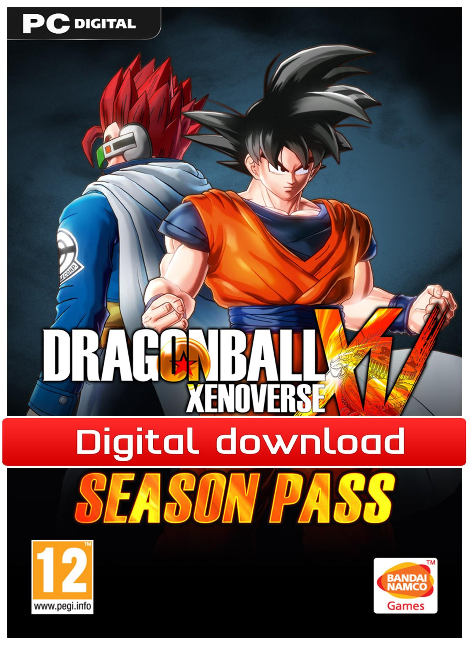 36813 : Dragonball Xenoverse Season Pass (PC nedlastning)