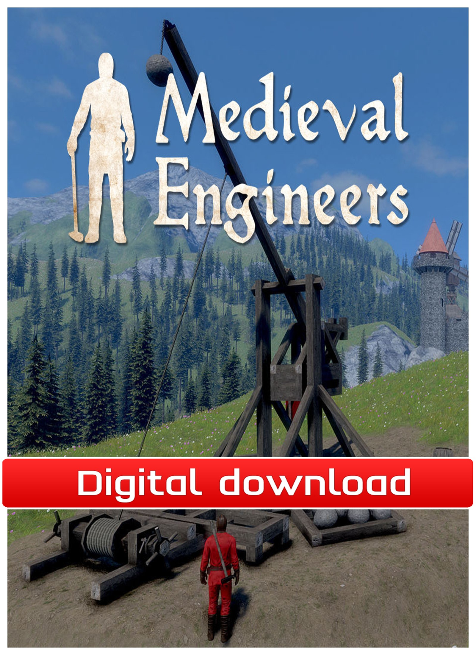 36832 : Medieval Engineers (PC nedlastning)