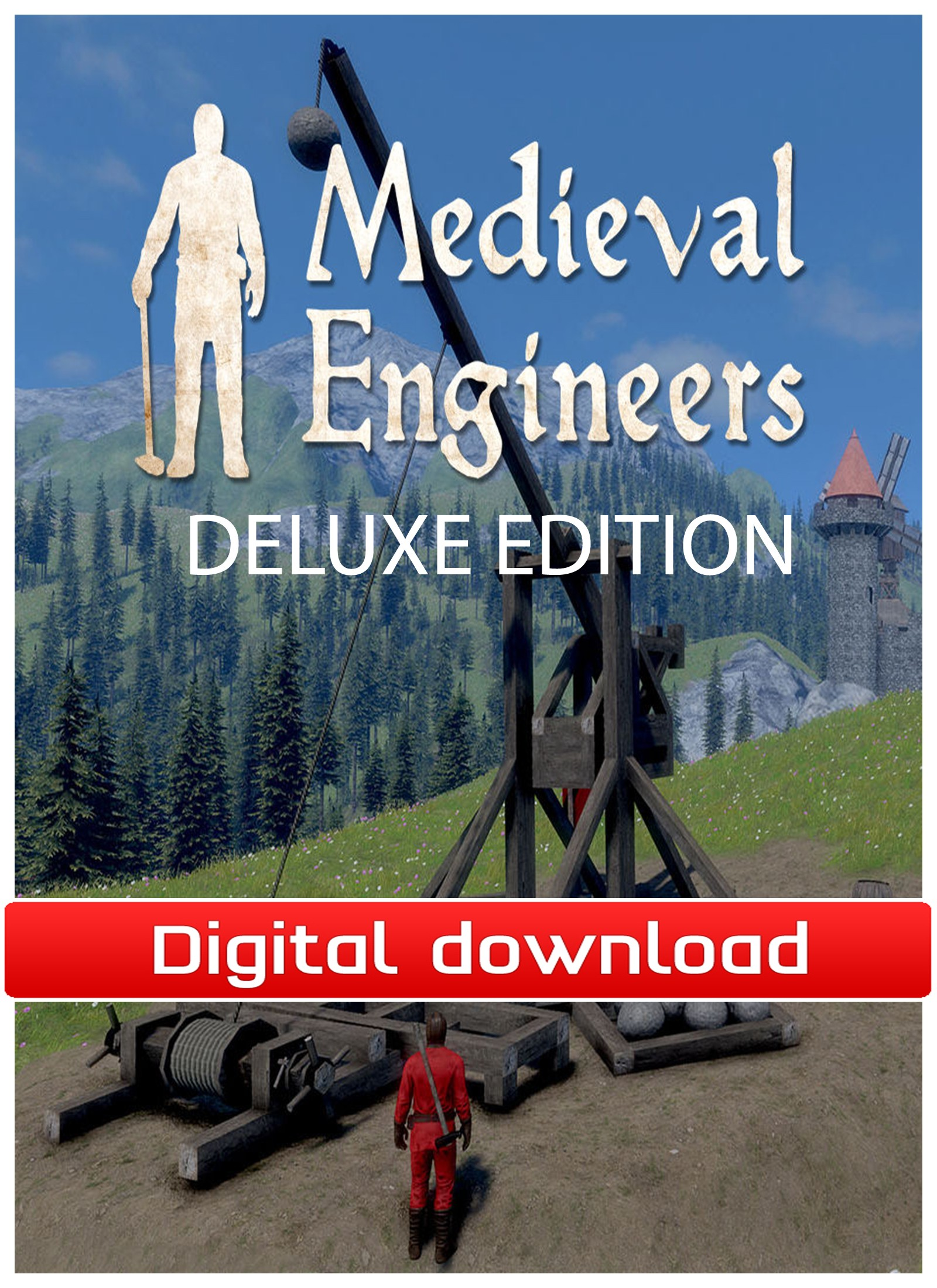 36833 : Medieval Engineers Deluxe Edition (PC nedlastning)