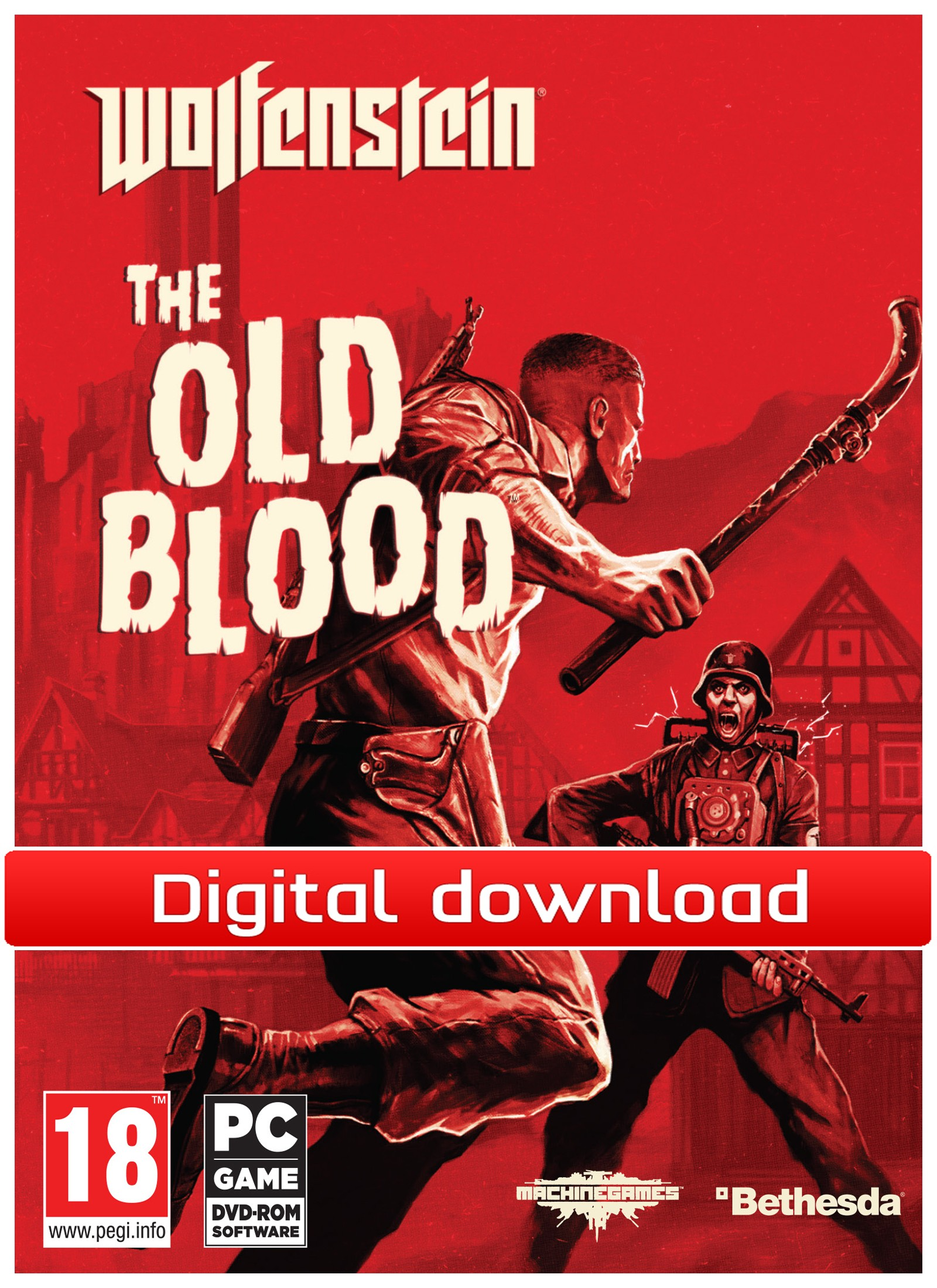 Wolfenstein: The Old Blood (PC nedlastning) PCDD37012