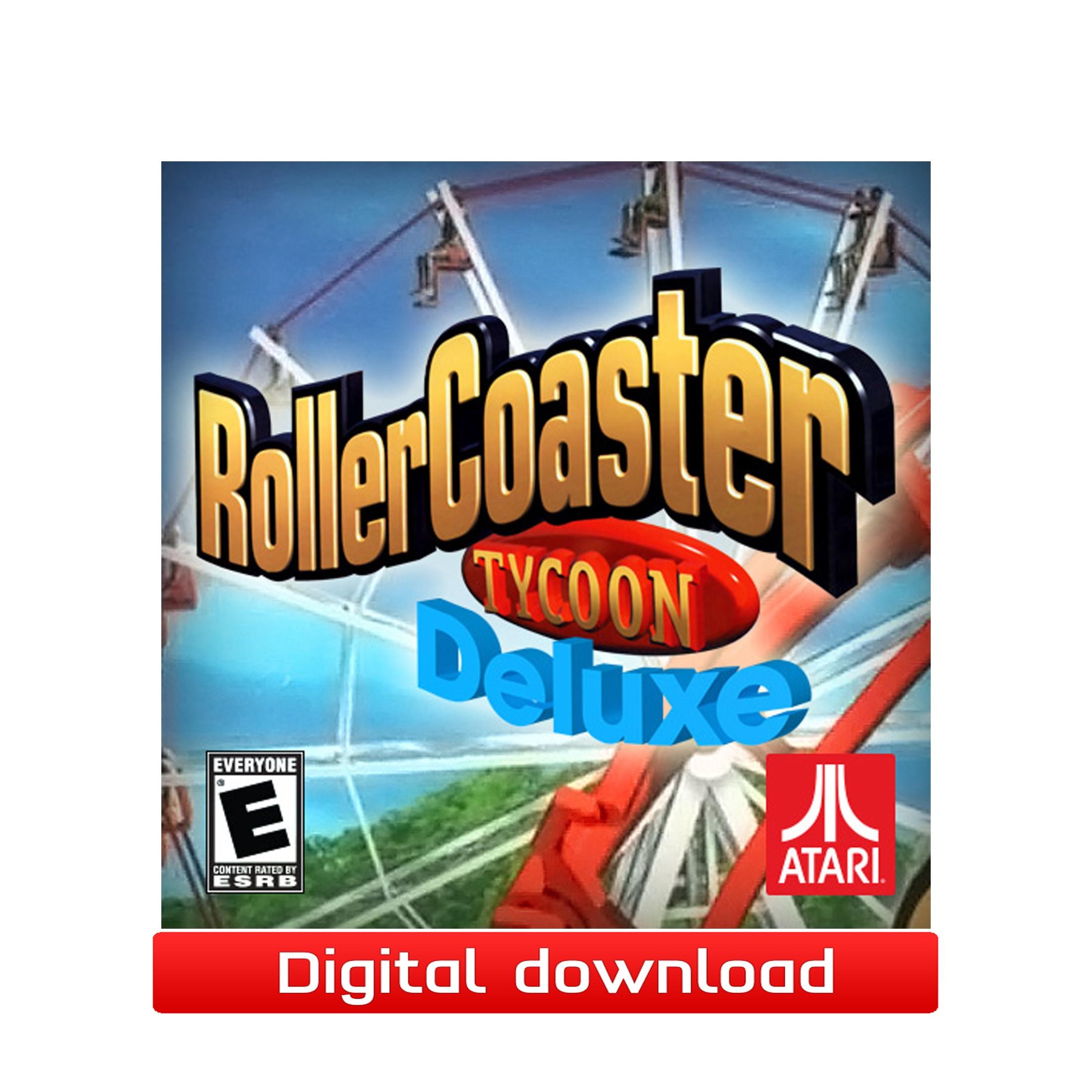 37174 : RollerCoaster Tycoon Deluxe (PC nedlastning)