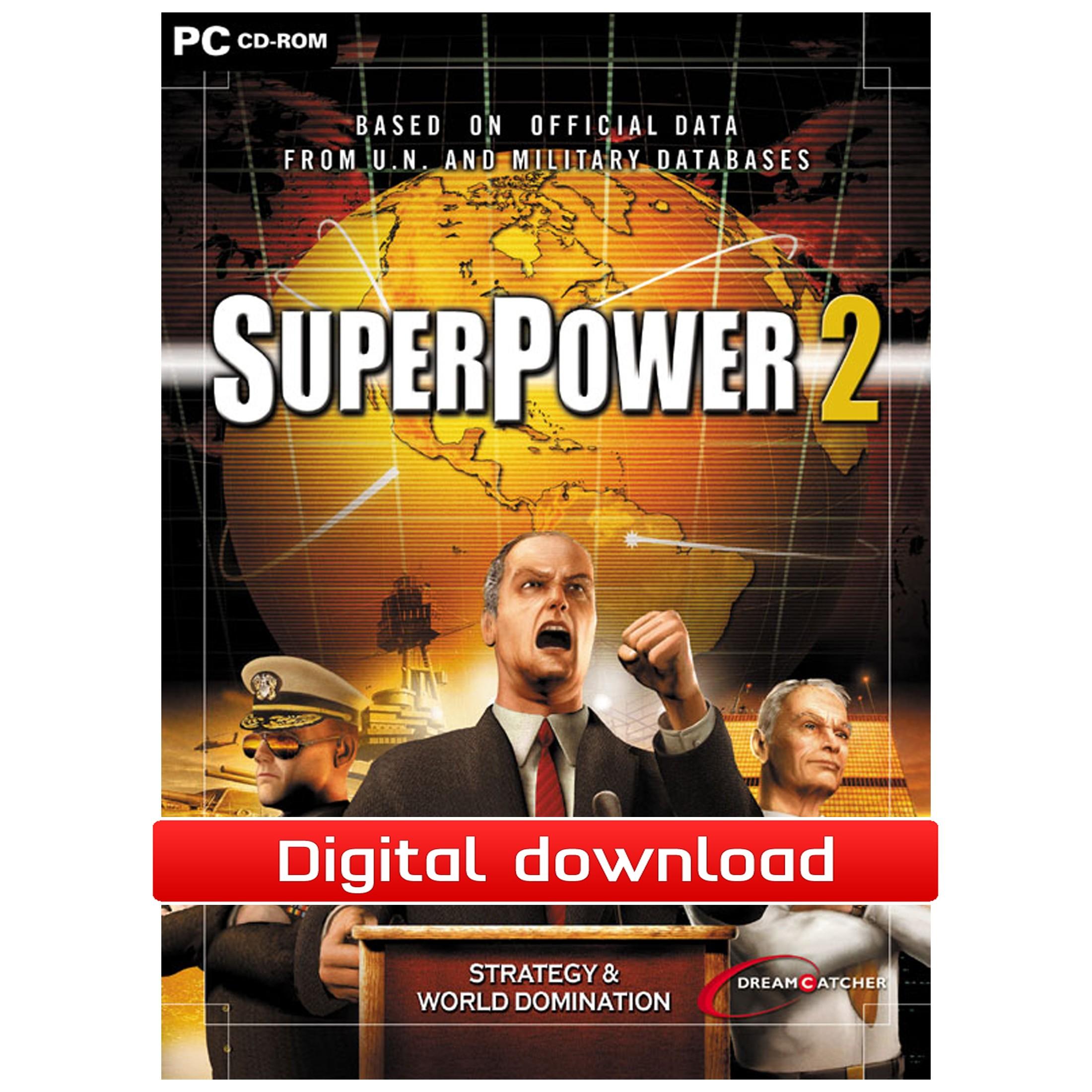 37203 : SuperPower 2 Steam Edition (PC nedlastning)