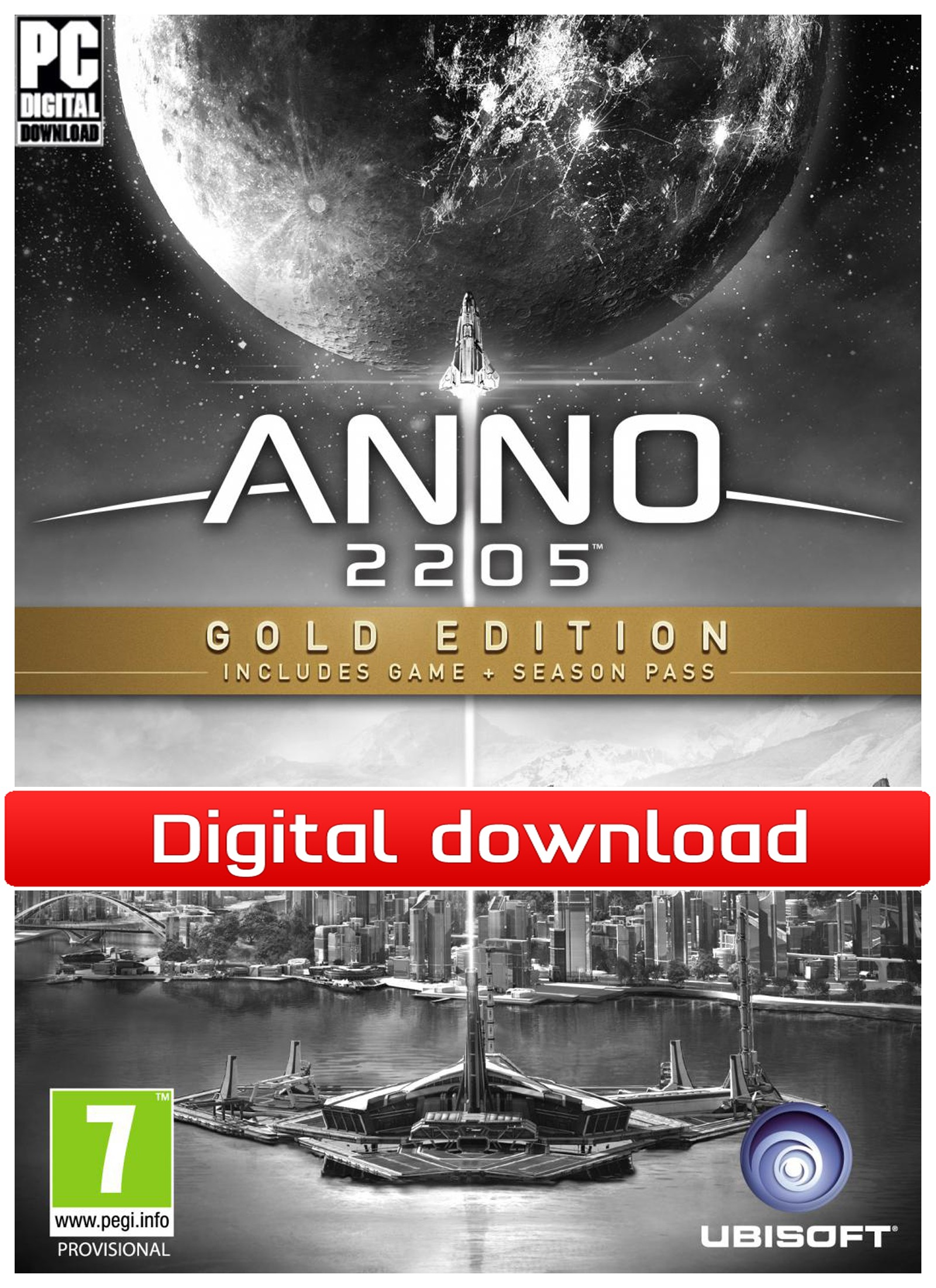37304 : Anno 2205 Gold Edition (PC nedlastning)