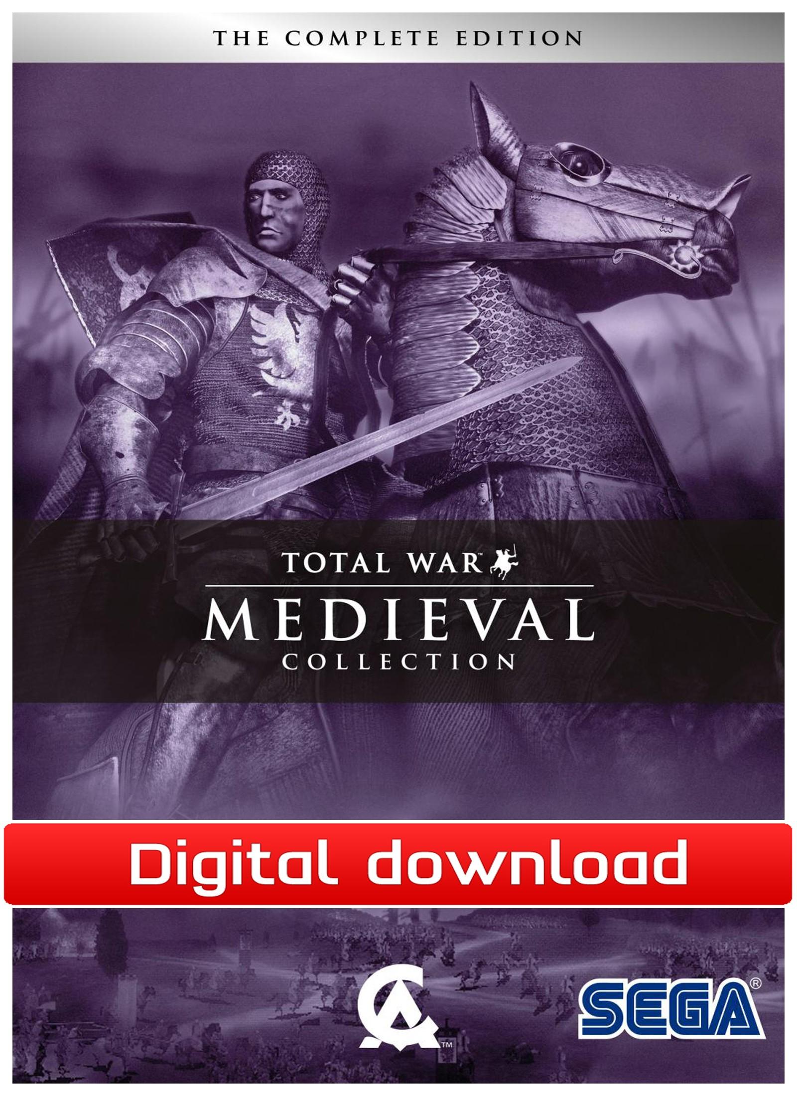37319 : Medieval: Total War Collection (PC nedlastning)