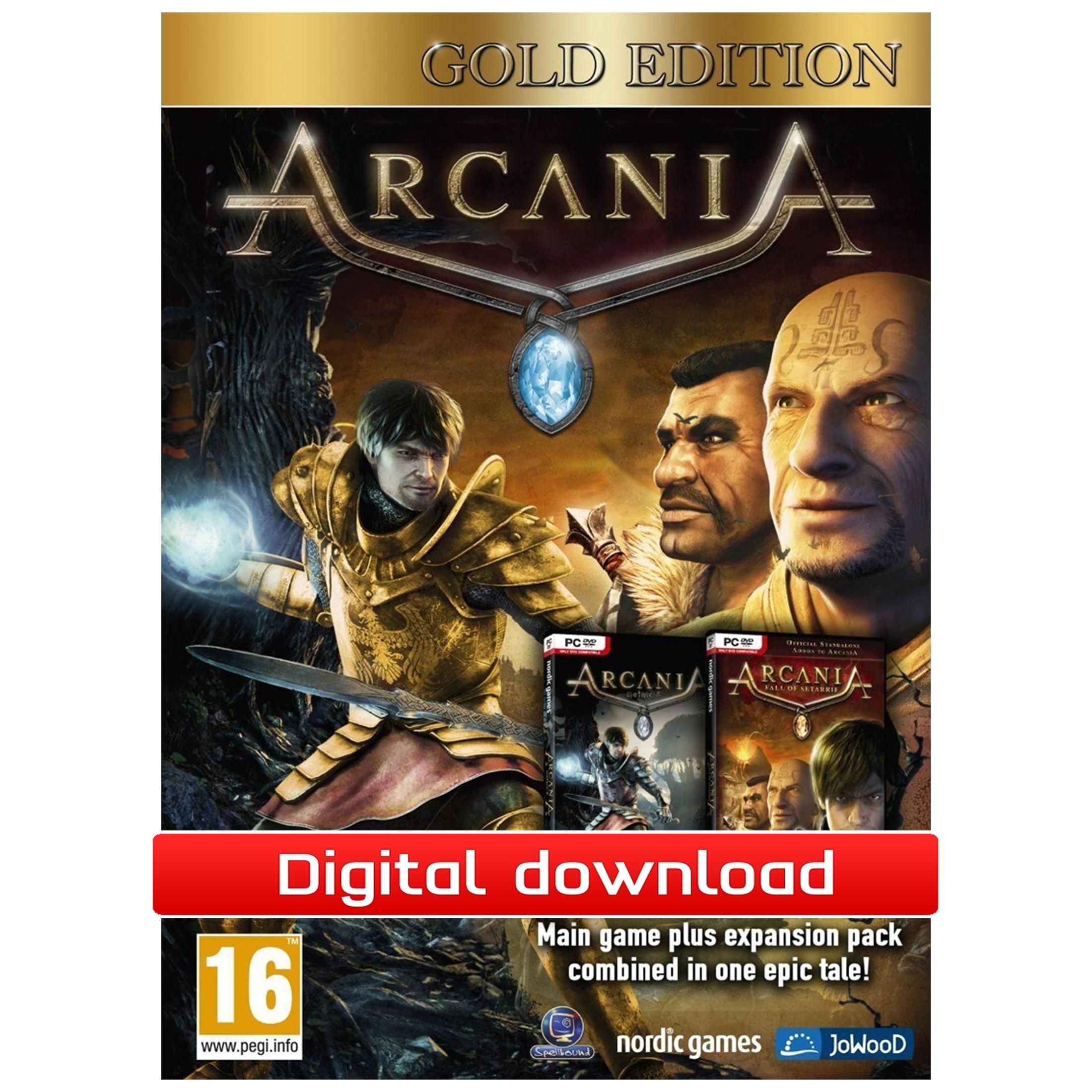 37549 : ArcaniA Gold Edition (PC nedlastning)