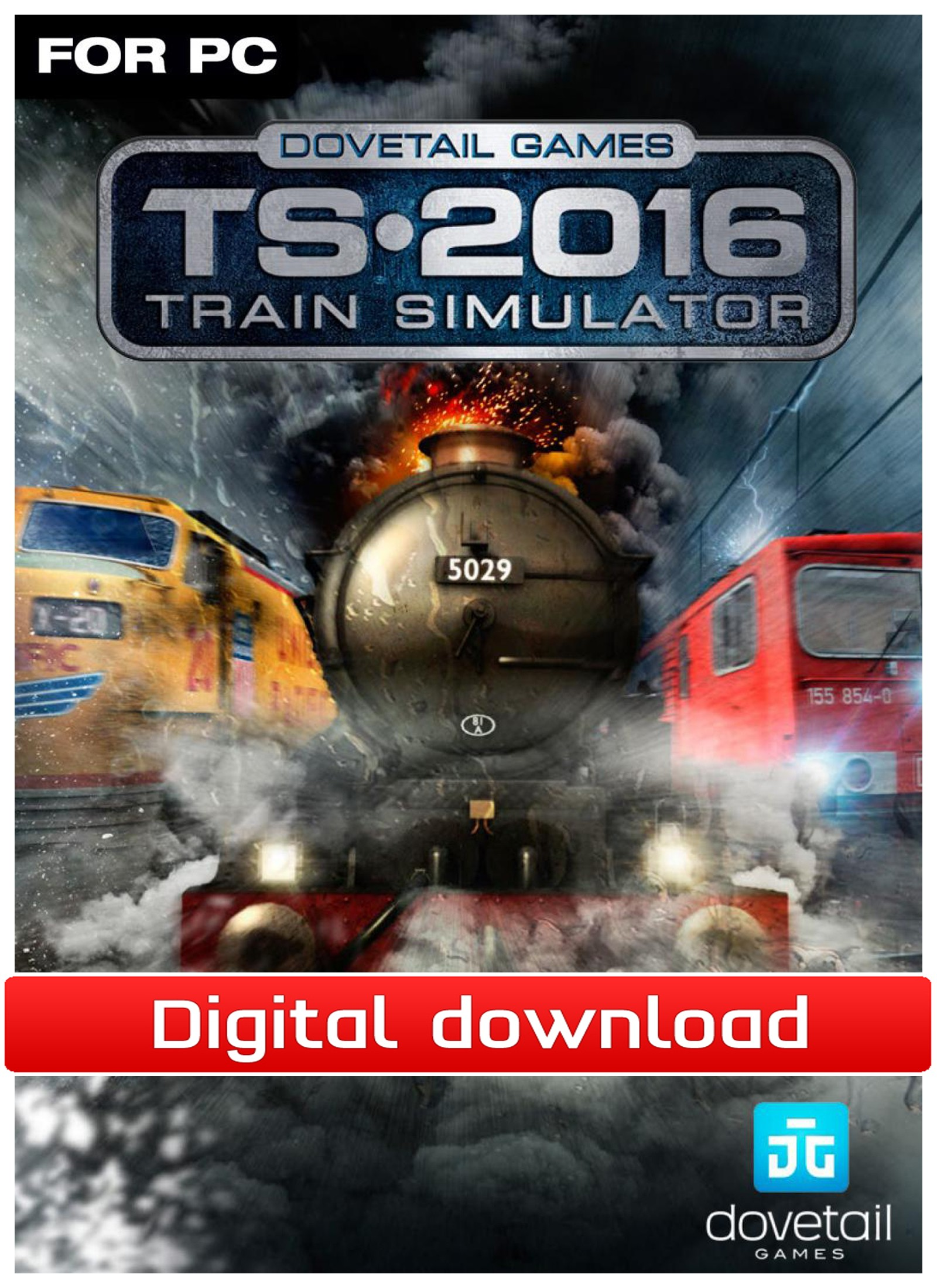 37697 : Train Simulator 2015 (PC nedlastning)