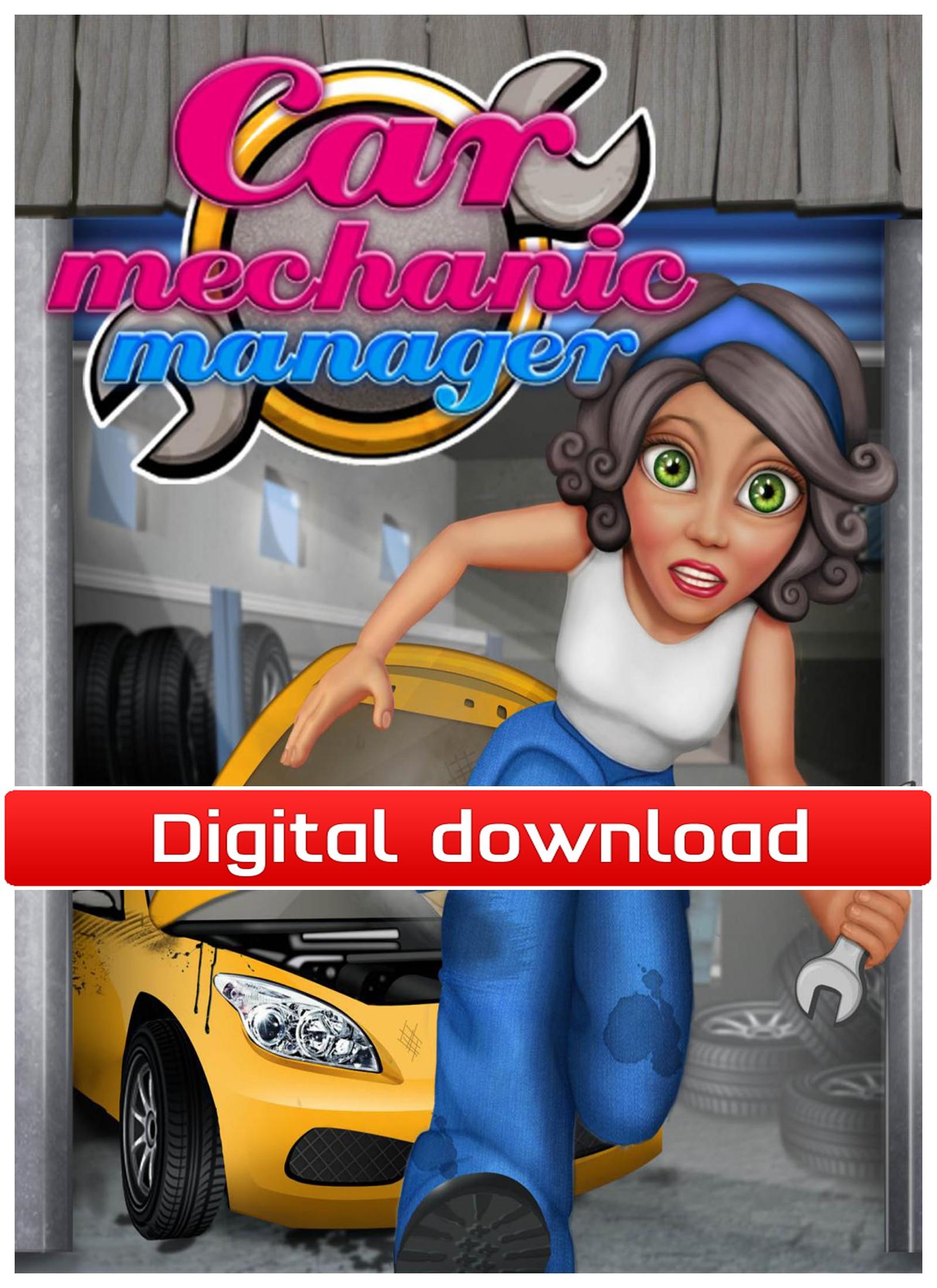 37806 : Car Mechanic Manager (PC nedlastning)