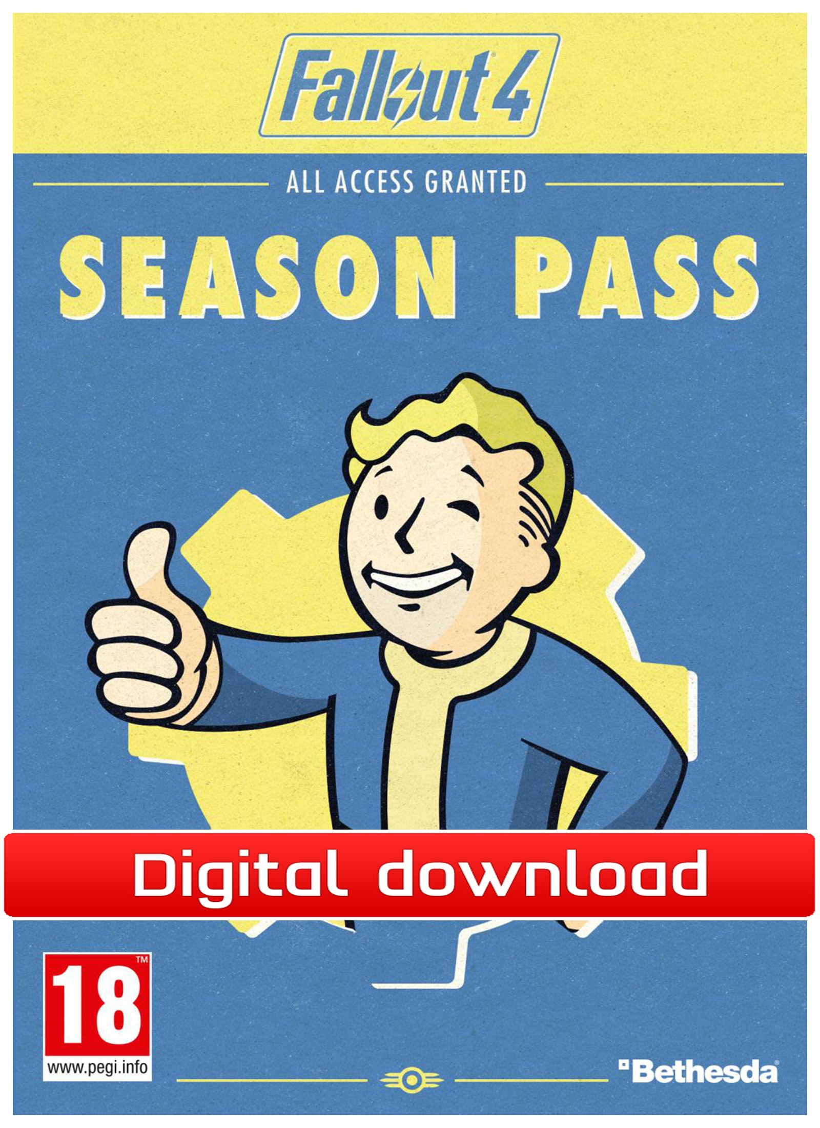 37807 : Fallout 4 Season Pass (PC nedlastning)