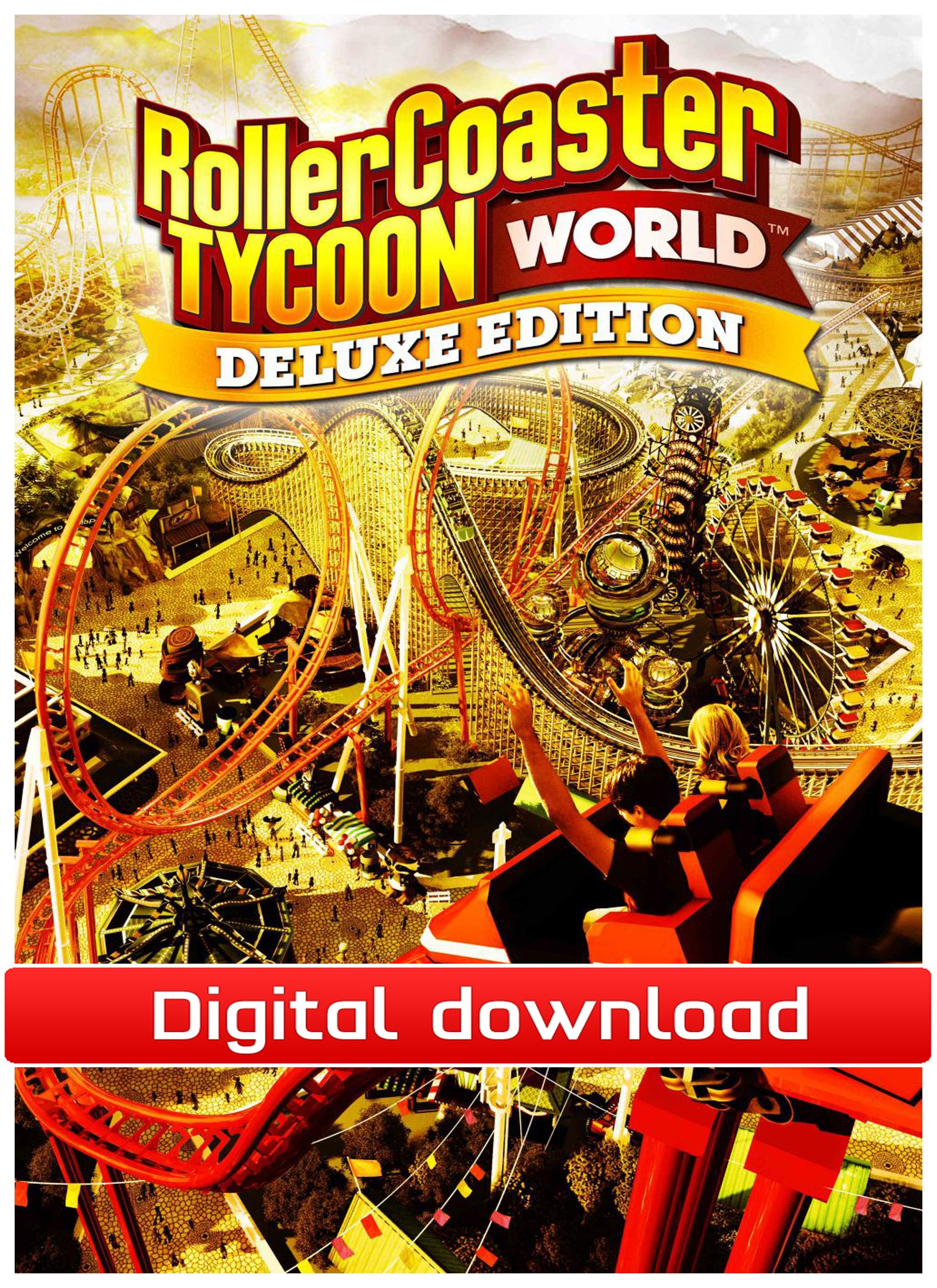37862 : RollerCoaster Tycoon World Deluxe Ed-Early Access(nedl)