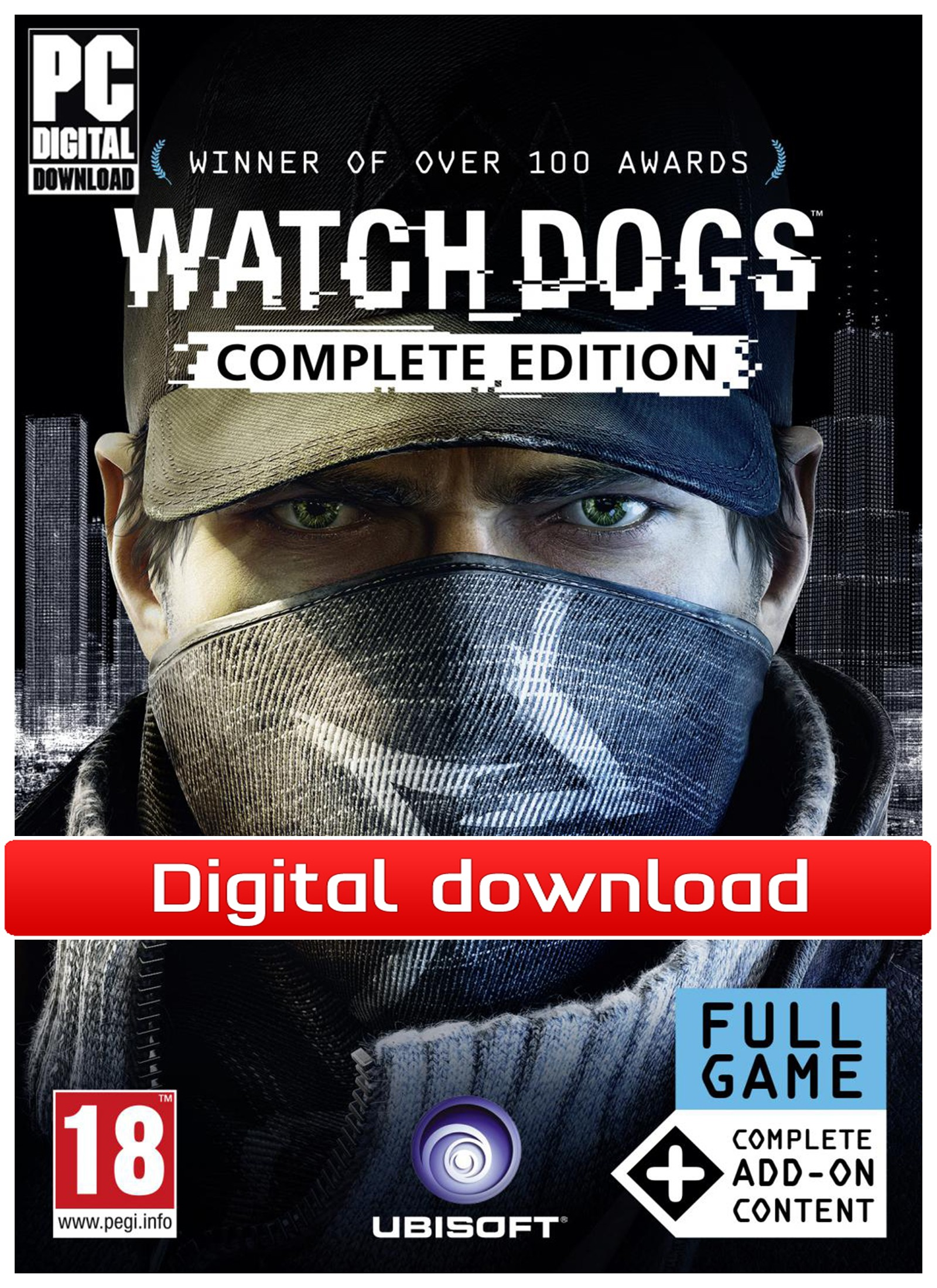 37927 : Watch Dogs Complete Edition (PC nedlastning)