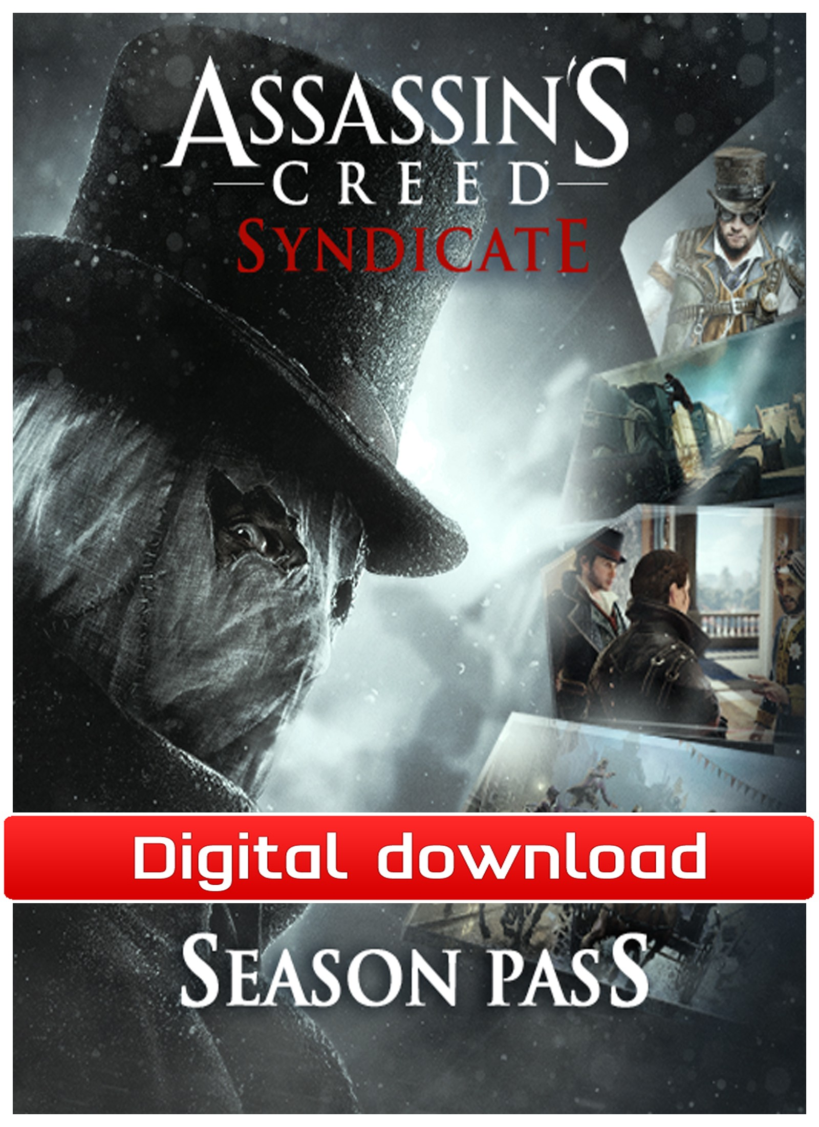 38208 : Assassin's Creed Syndicate - DLC Season Pass (PC nedl)
