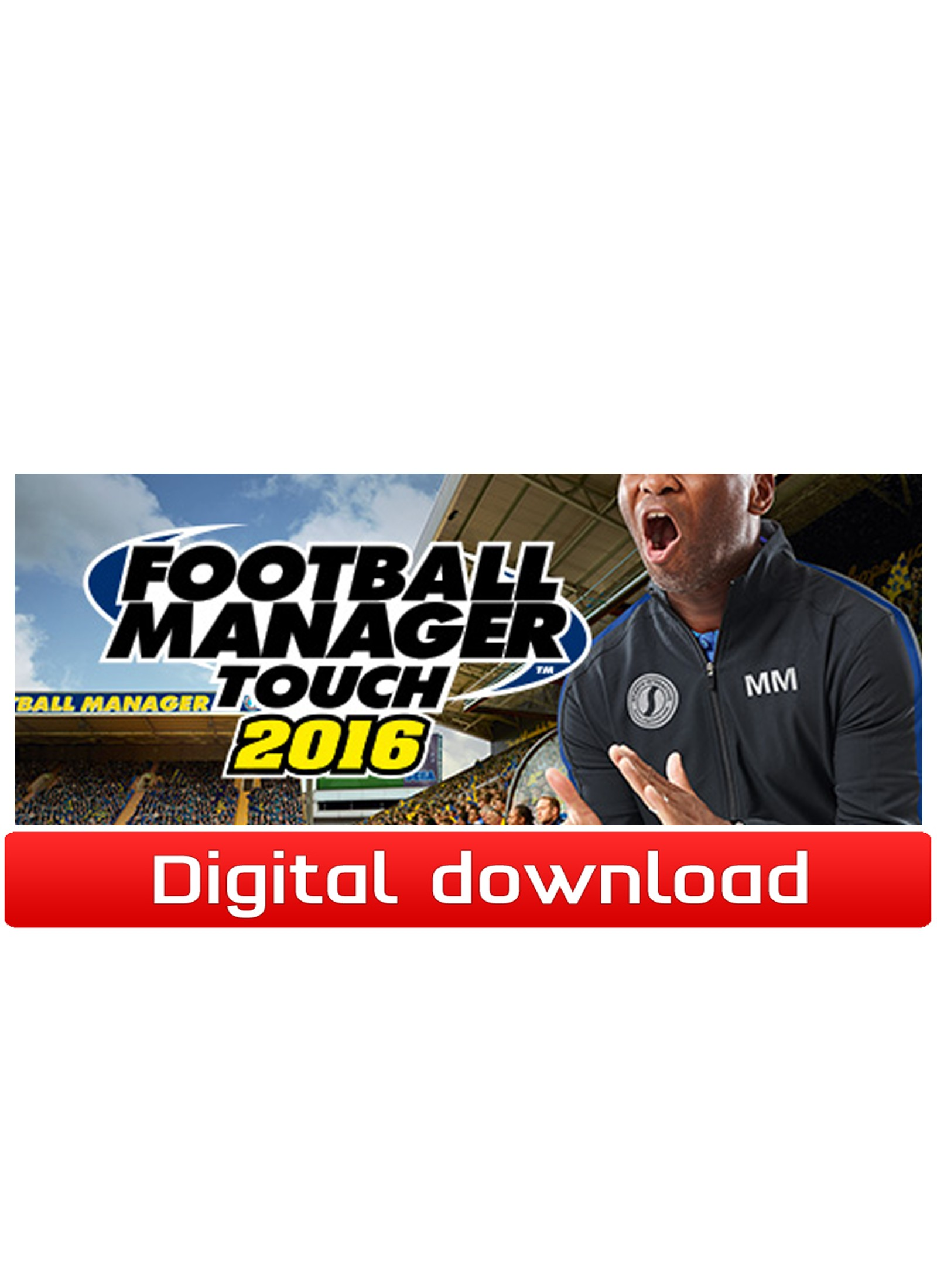 38257 : Football Manager Touch 2016 (PC nedlastning)