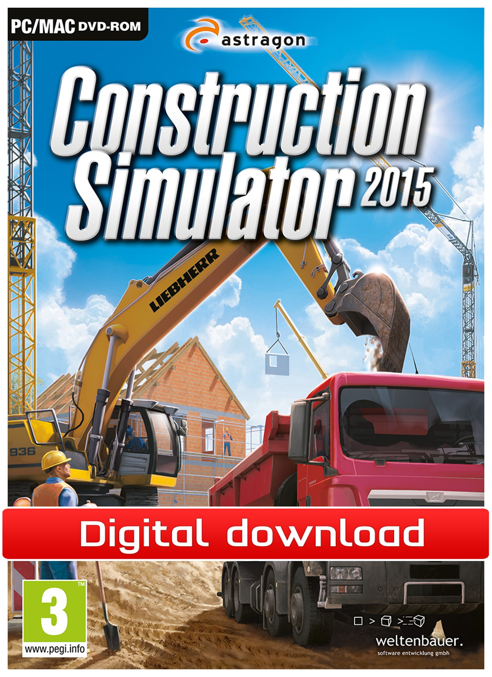 38319 : Construction Simulator 2015 (PC nedlastning)
