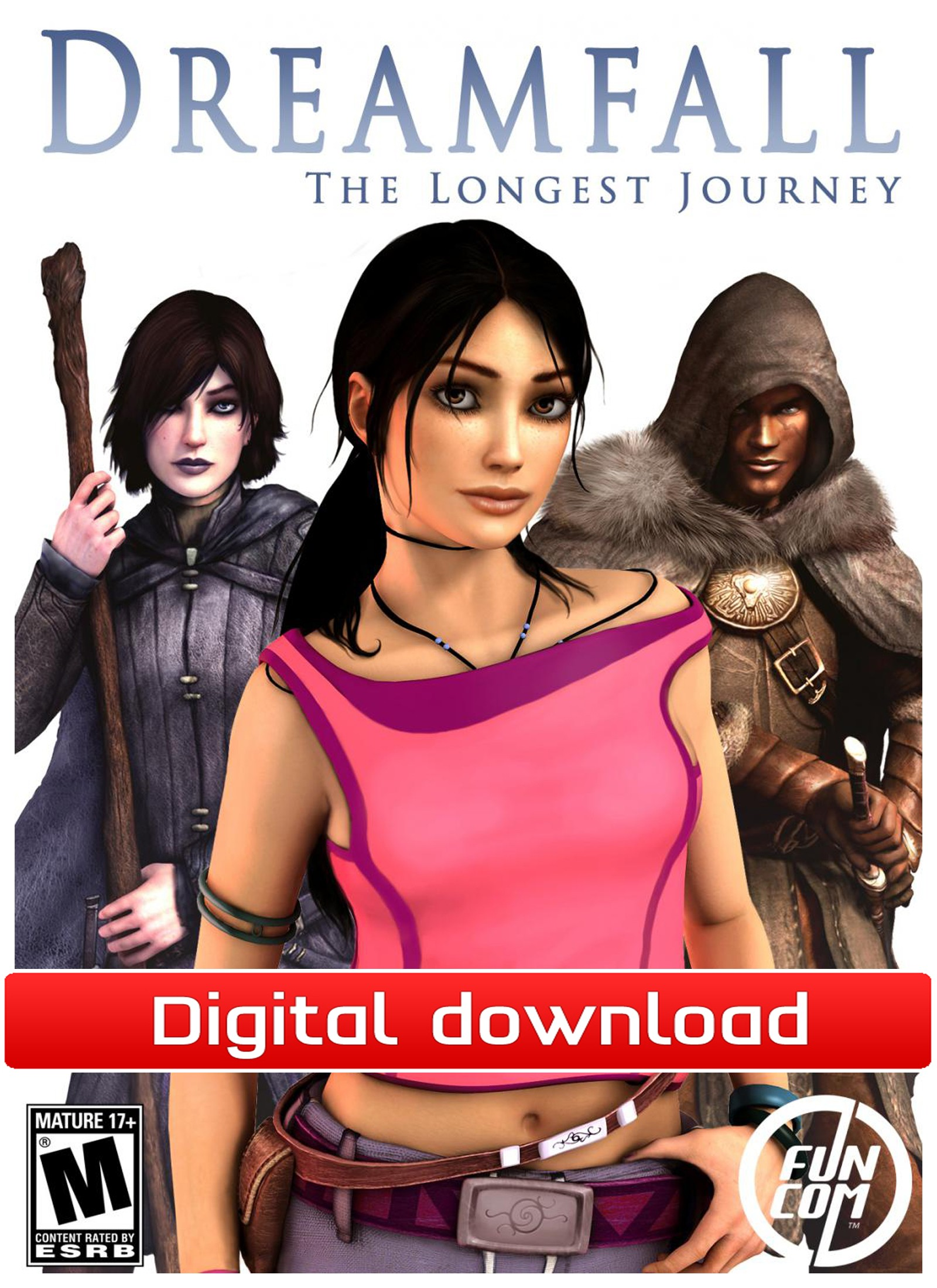 38345 : Dreamfall: The Longest Journey (PC nedlastning)
