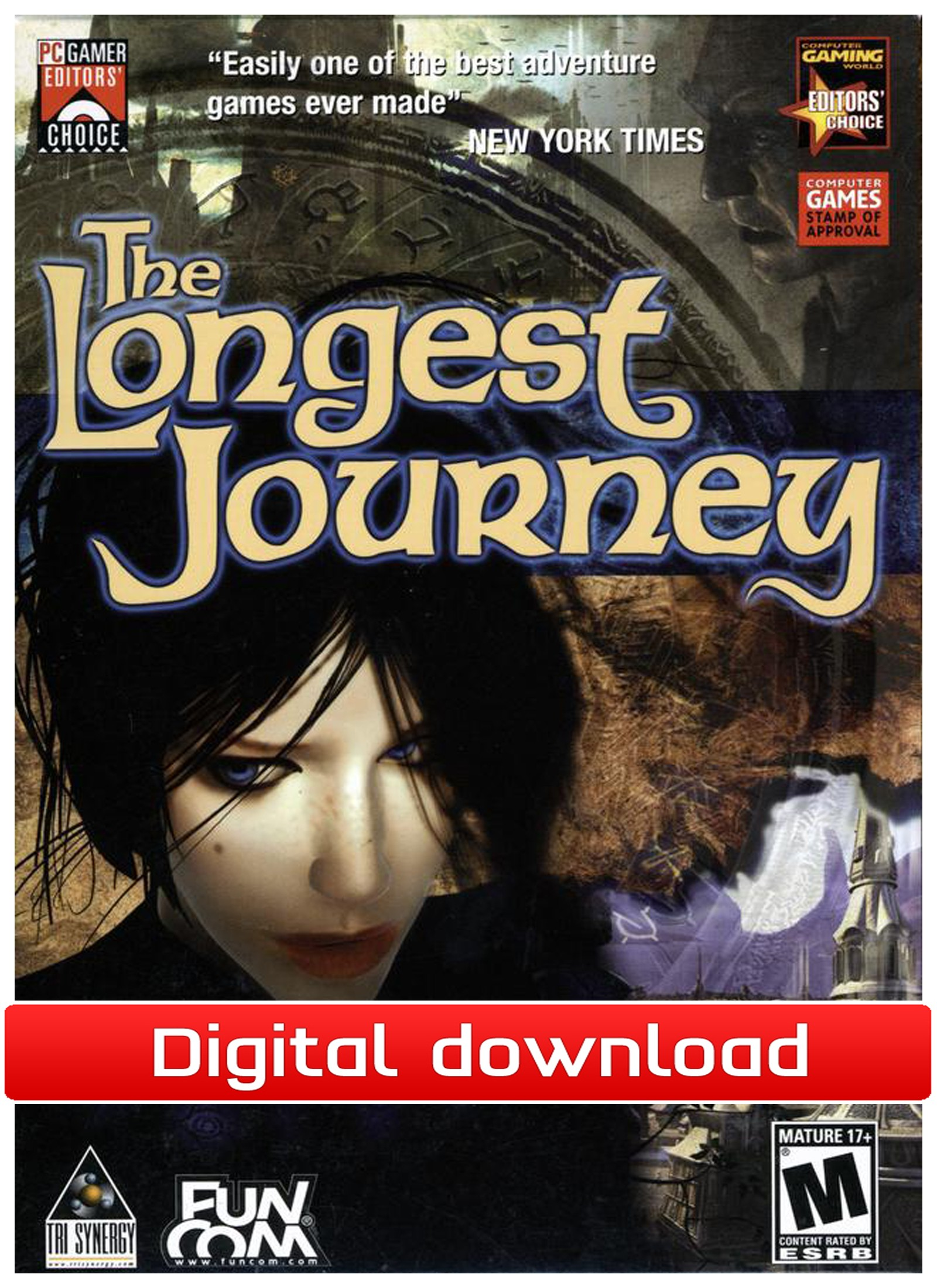 38346 : The Longest Journey (PC nedlastning)