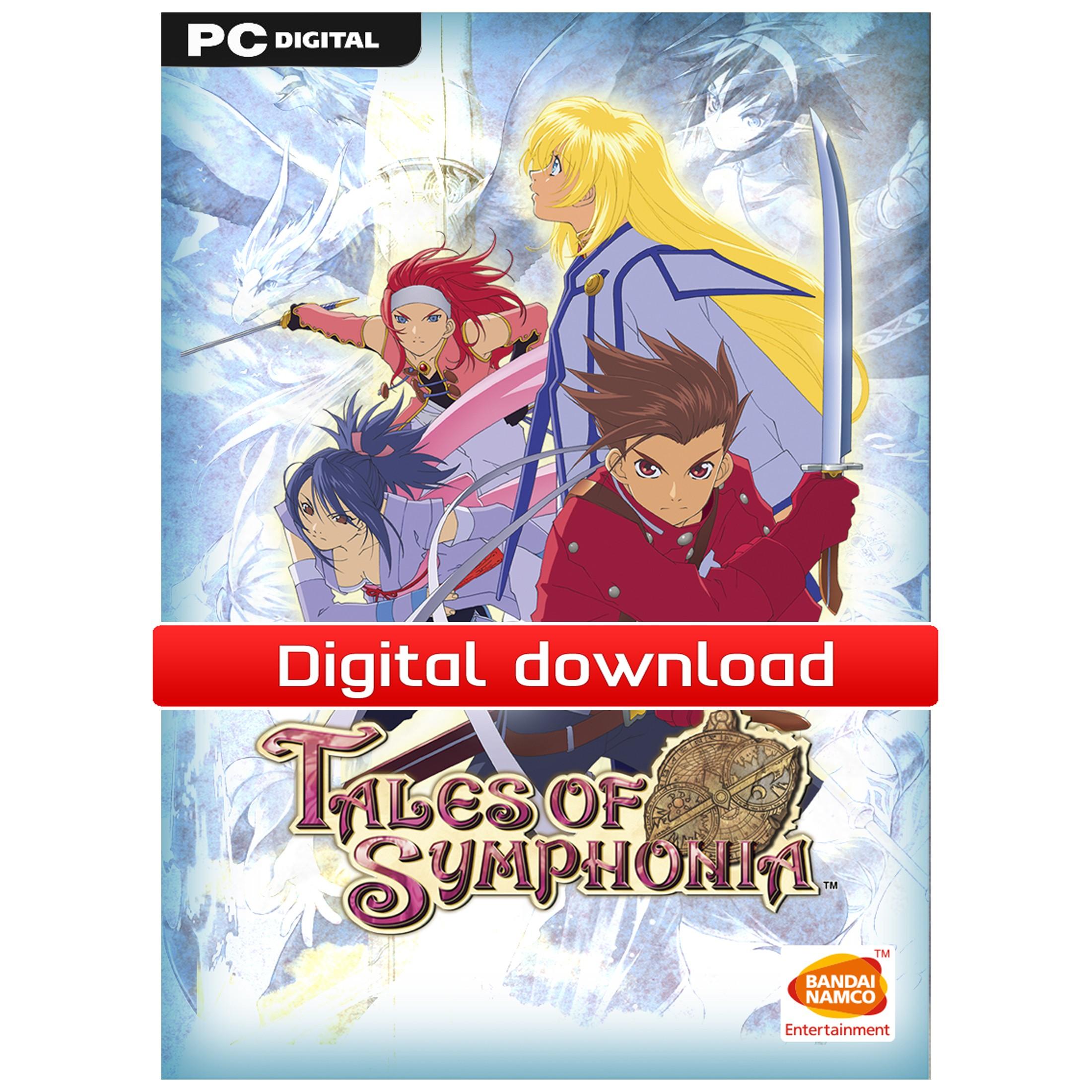 Tales of Symphonia (PC nedlastning) PCDD38586