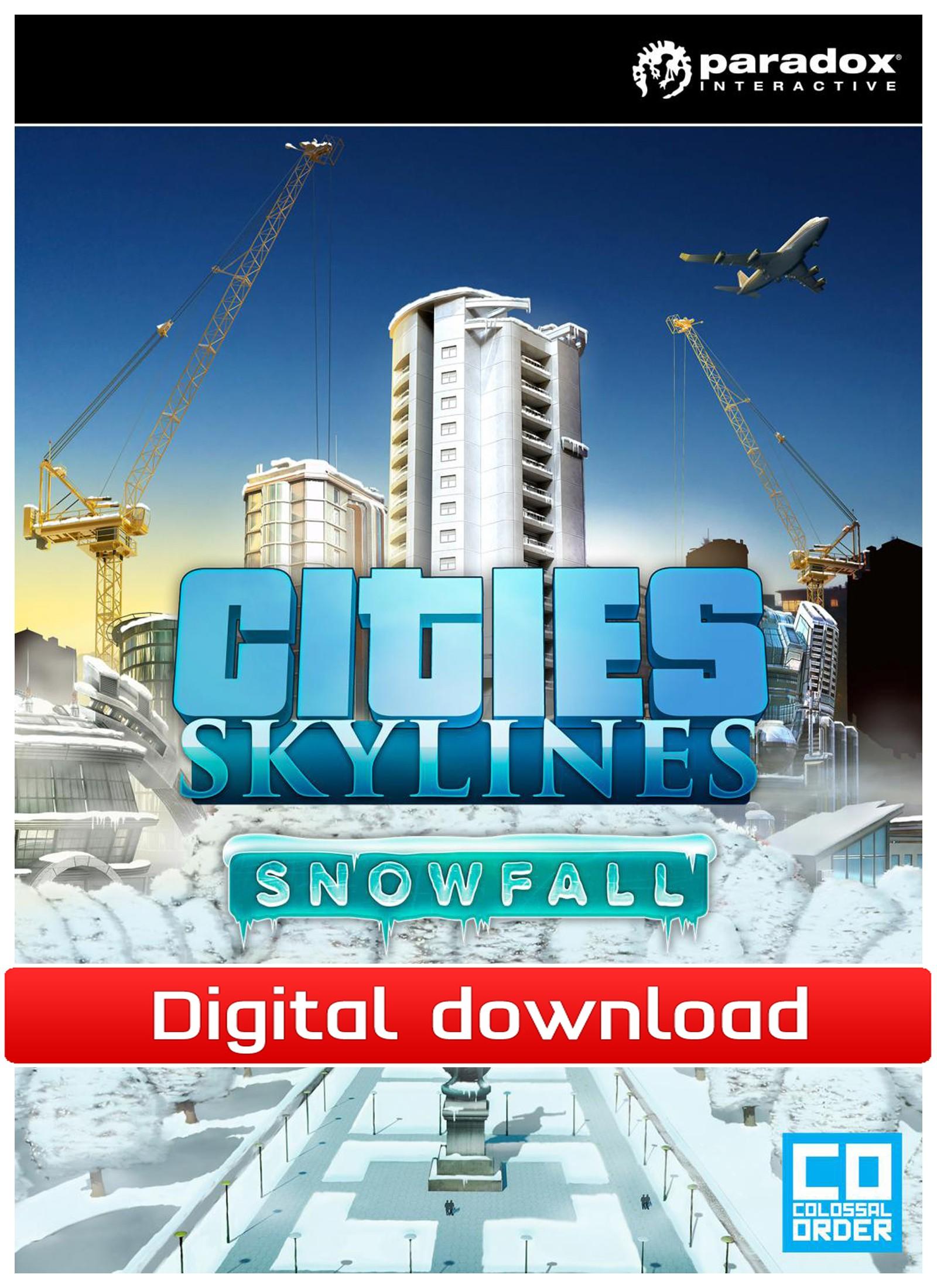 38761 : Cities: Skylines - DLC Snowfall (PC nedlastning)