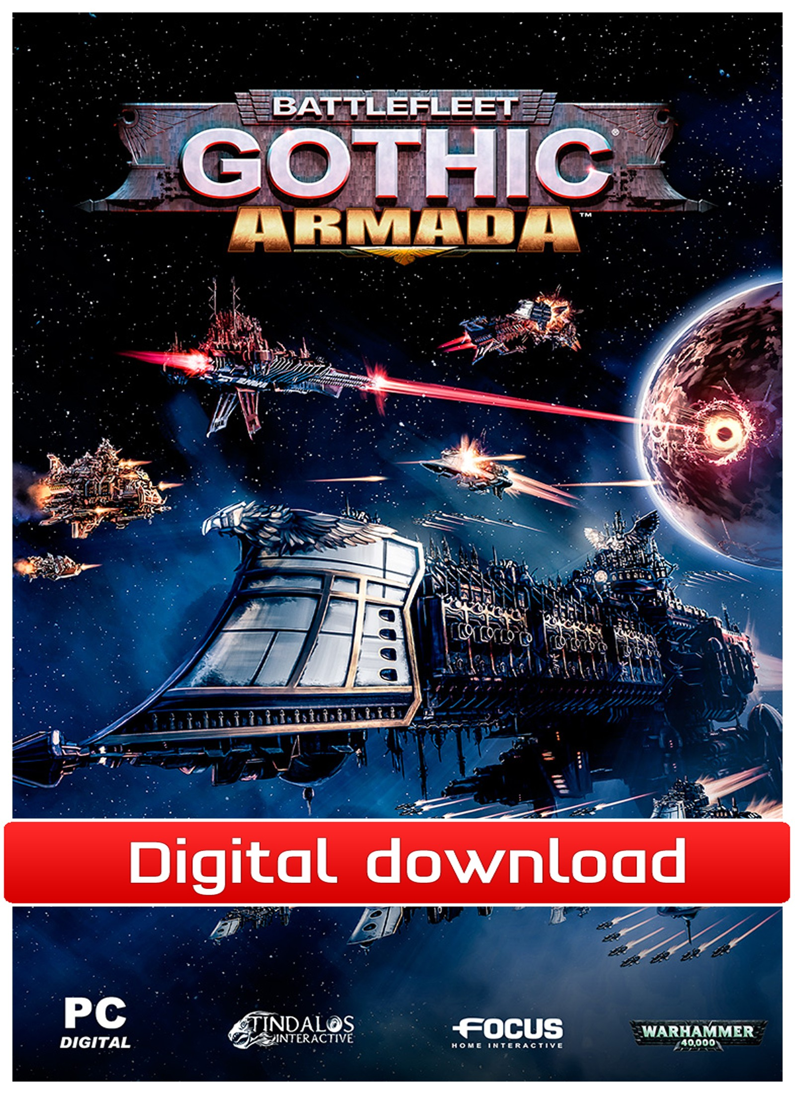 38767 : BattleFleet Gothic: Armada (PC nedlastning)