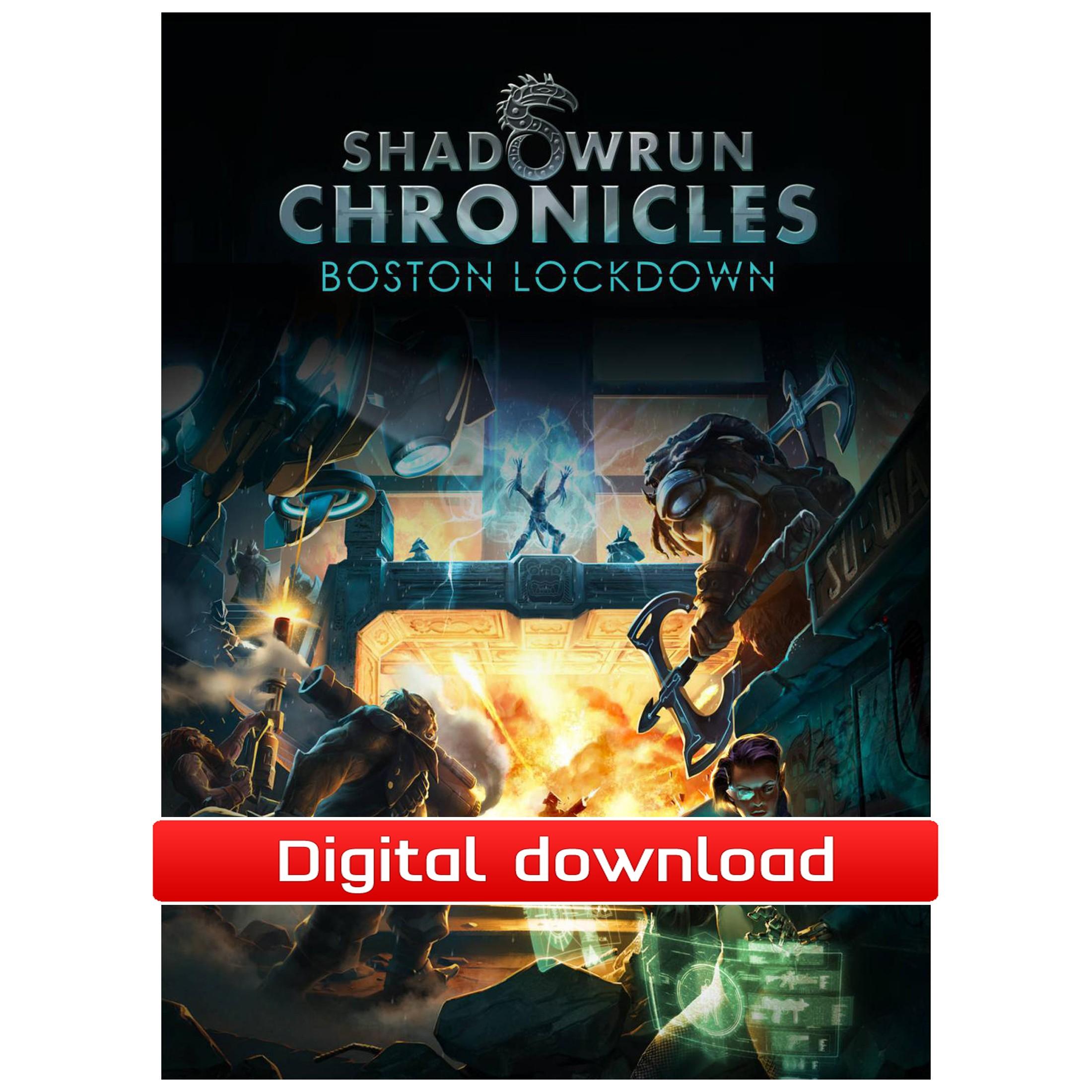 Shadowrun Chronicles Deluxe (PC nedlastning) PCDD38902