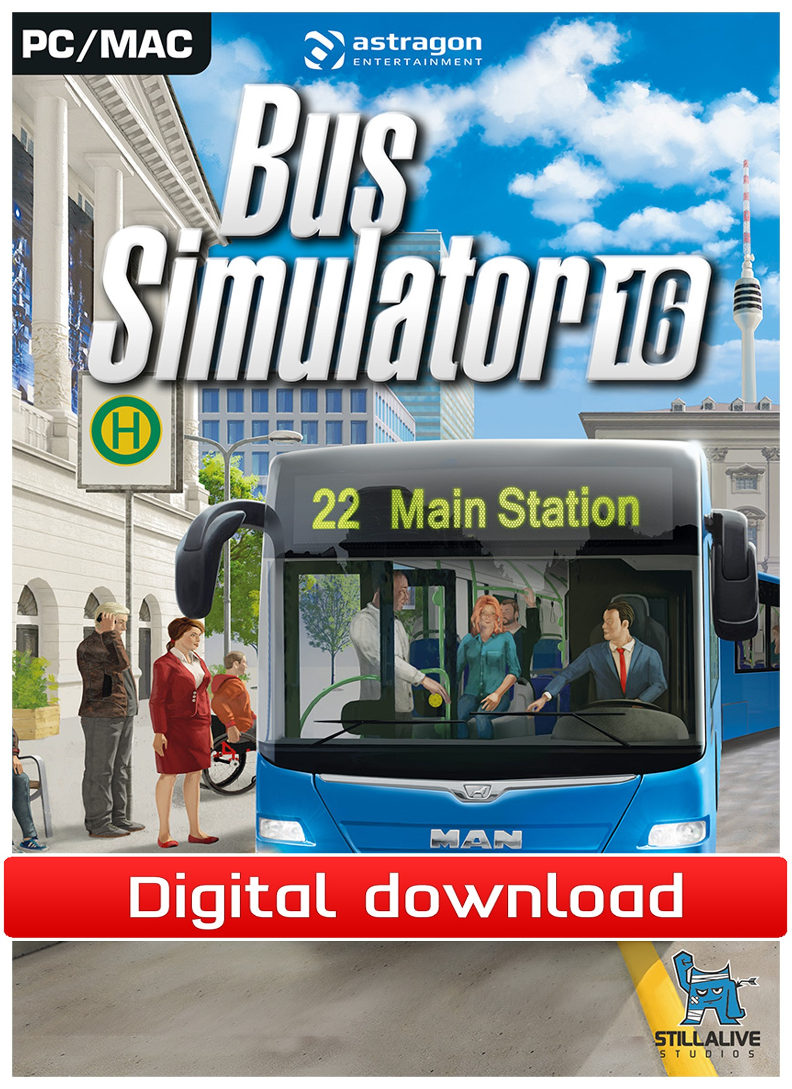 38951 : Bus Simulator 16 (PC nedlastning)