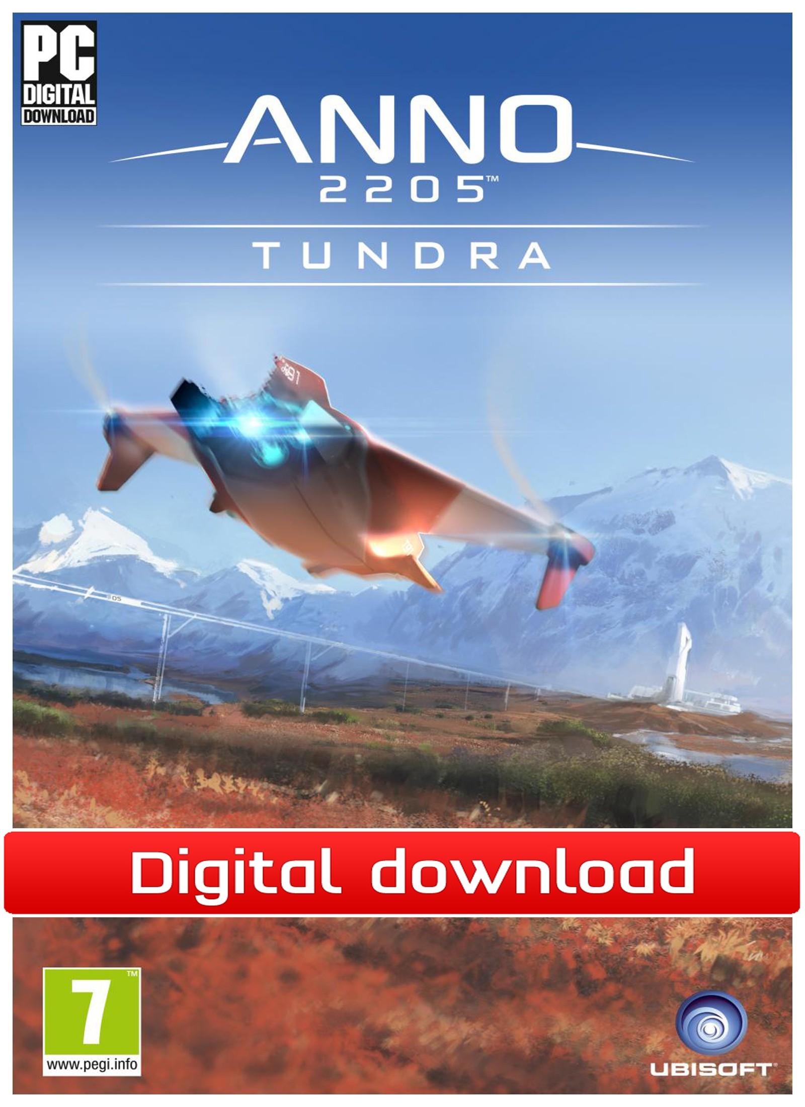 38952 : Anno 2205 - DLC Tundra (PC nedlastning)