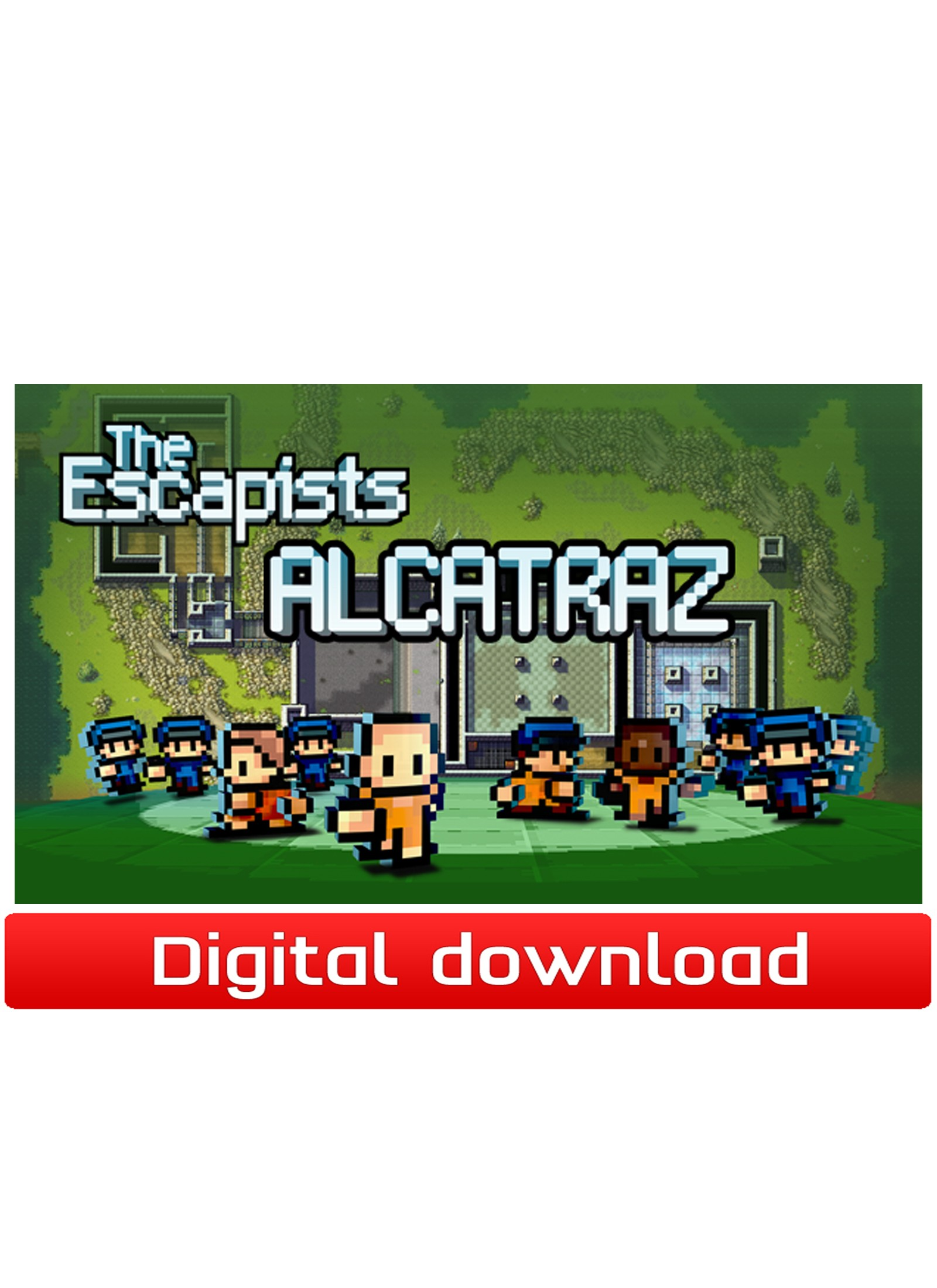 38969 : The Escapists - DLC Alcatraz (PC nedlastning)
