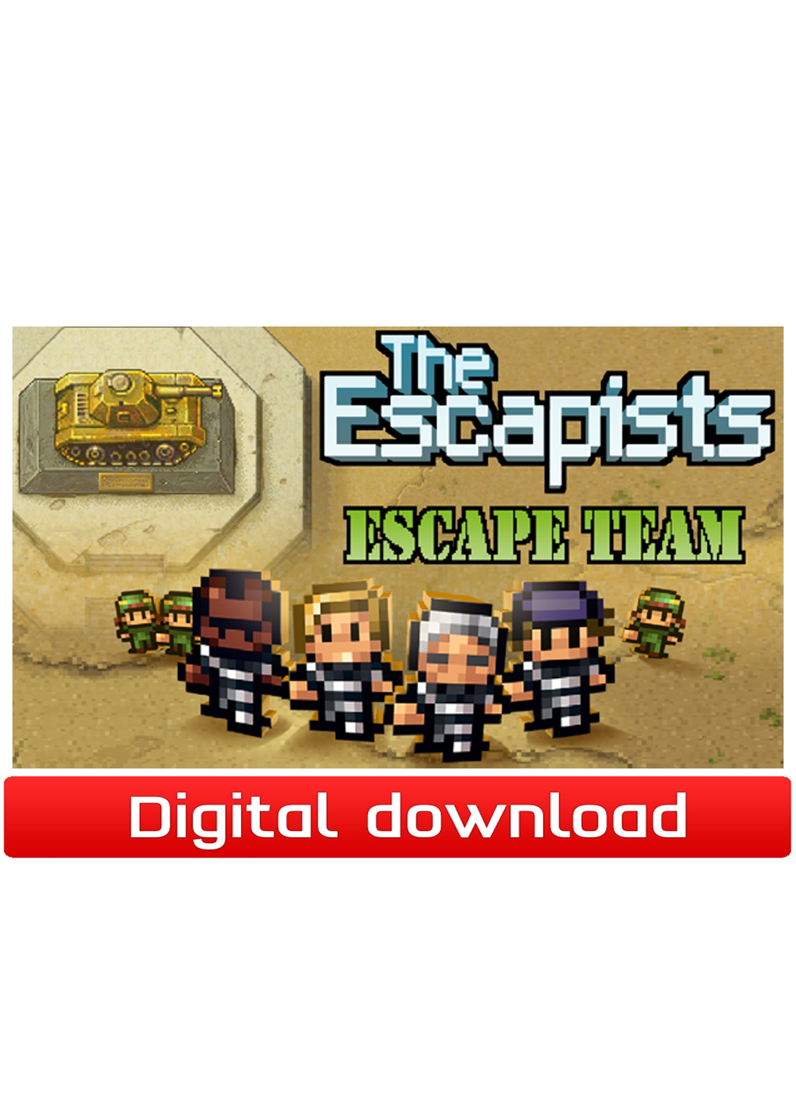 38970 : The Escapists-DLC Escape Team (PC nedlastning)