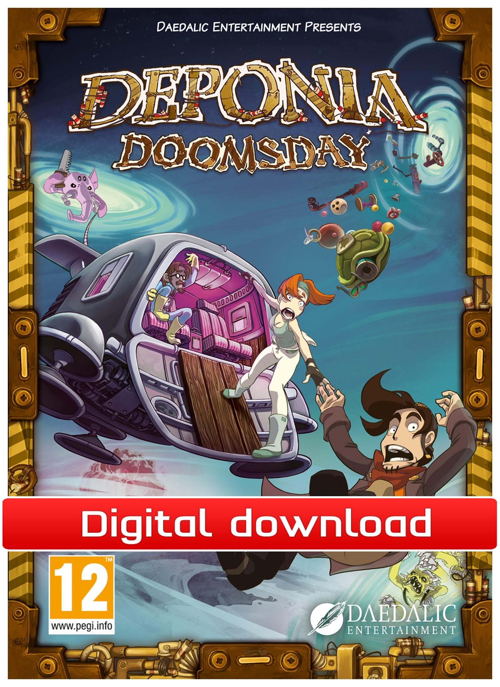 Deponia Doomsday (PC nedlastning) PCDD38972