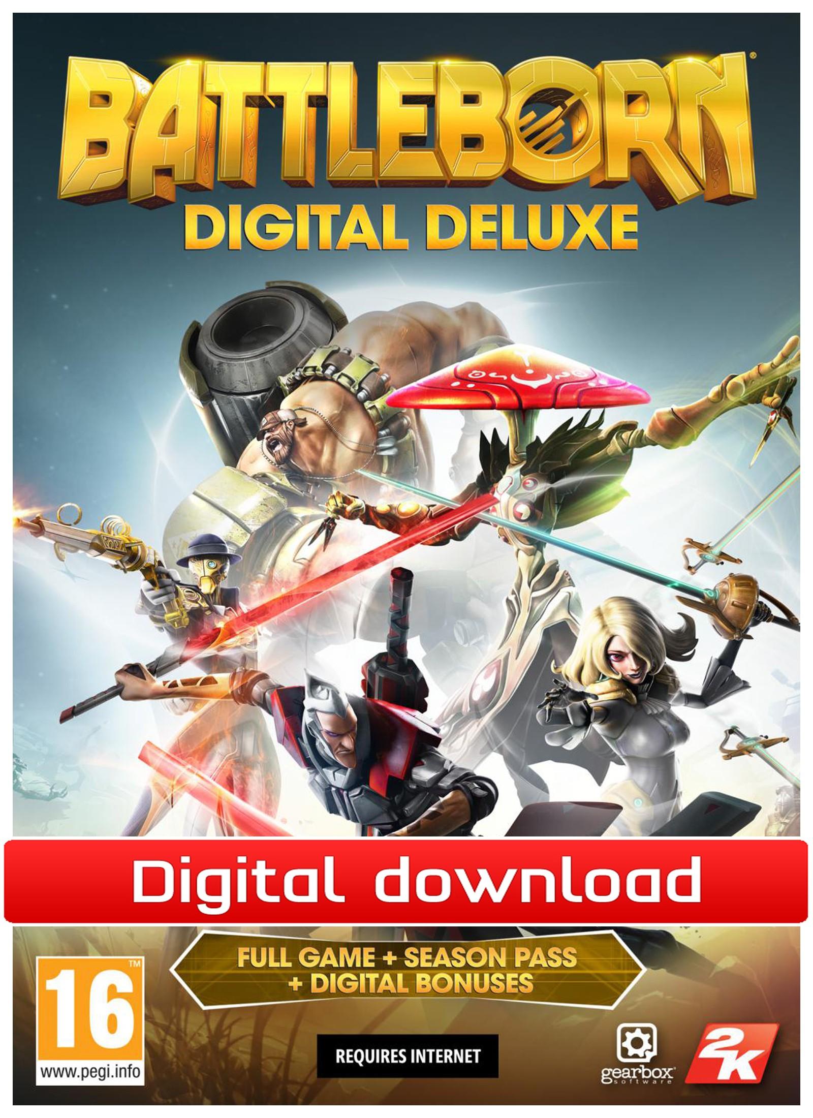 Battleborn Digital Deluxe (PC nedlastning) PCDD39147