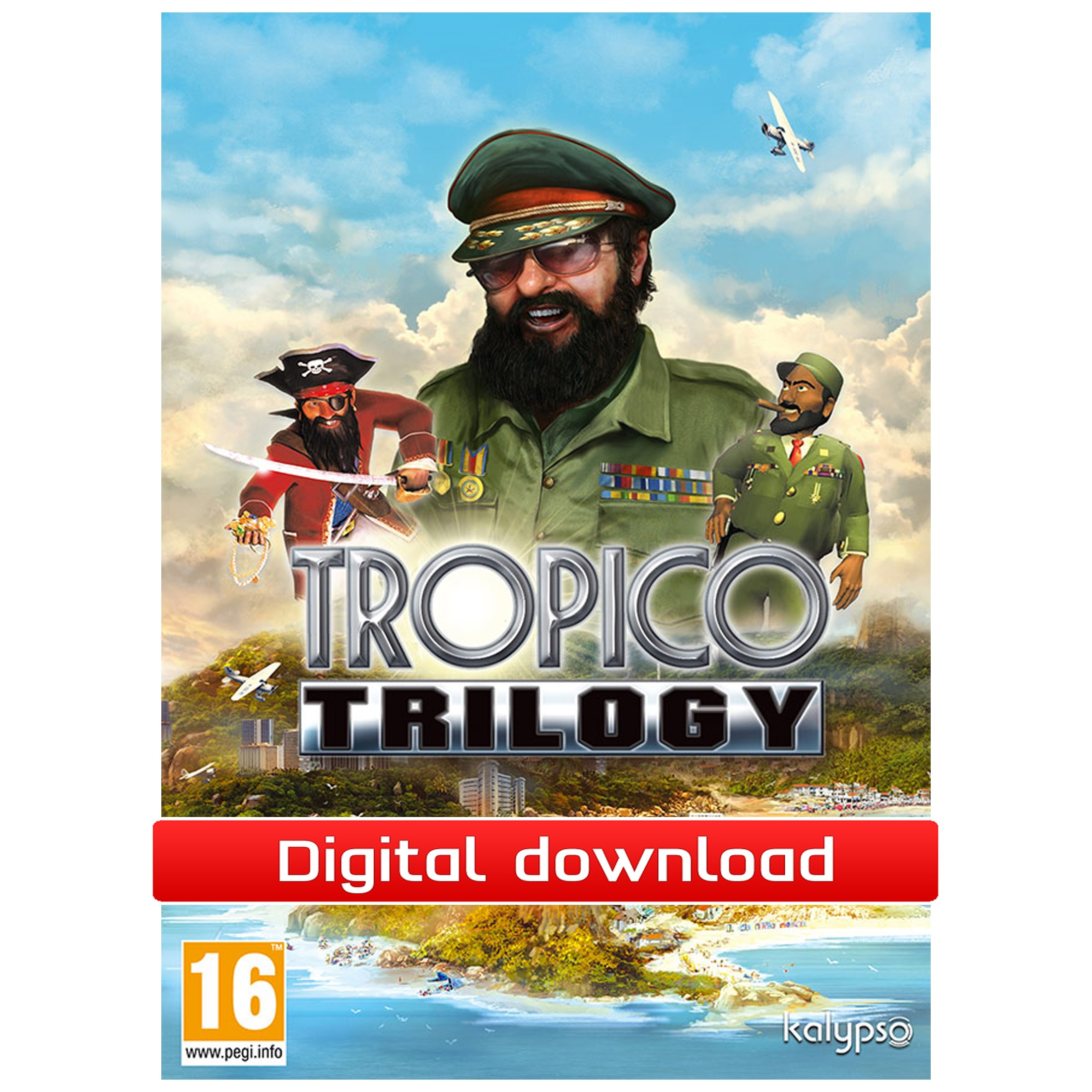 39149 : Tropico Trilogy (PC nedlastning)