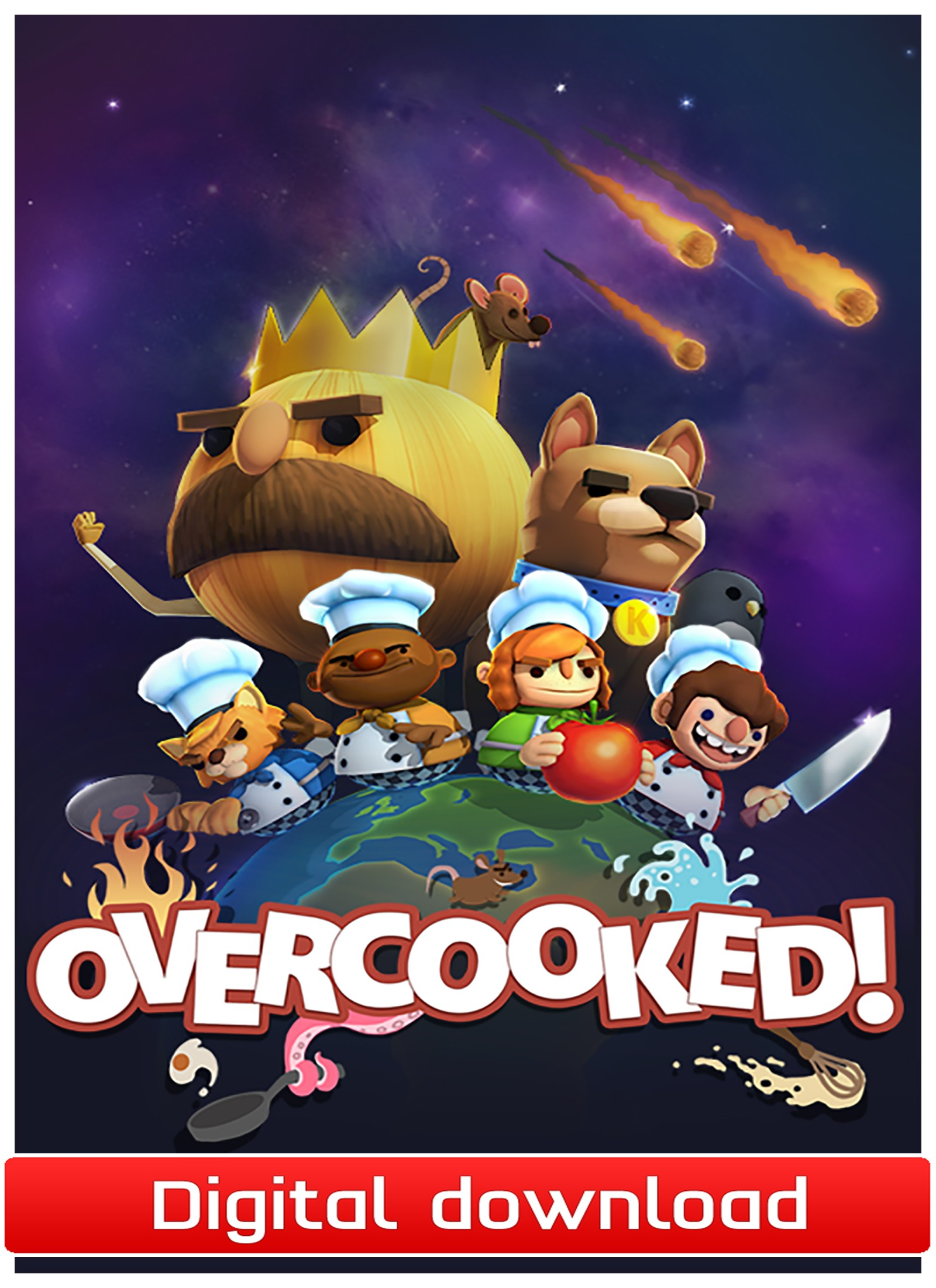 40044 : Overcooked (PC nedlastning)