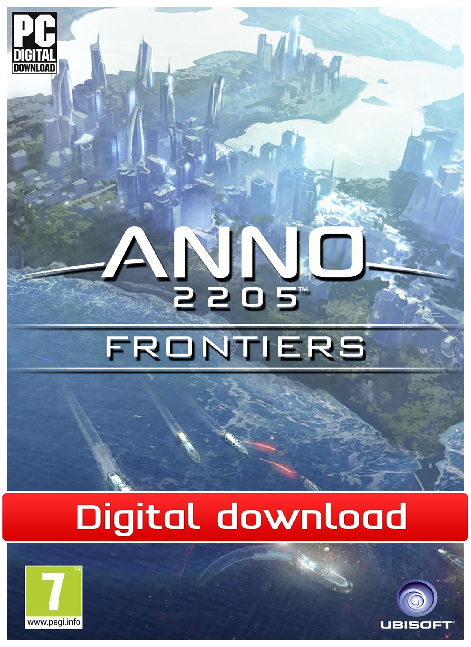 40719 : Anno 2205: Frontiers DLC (PC nedlastning)