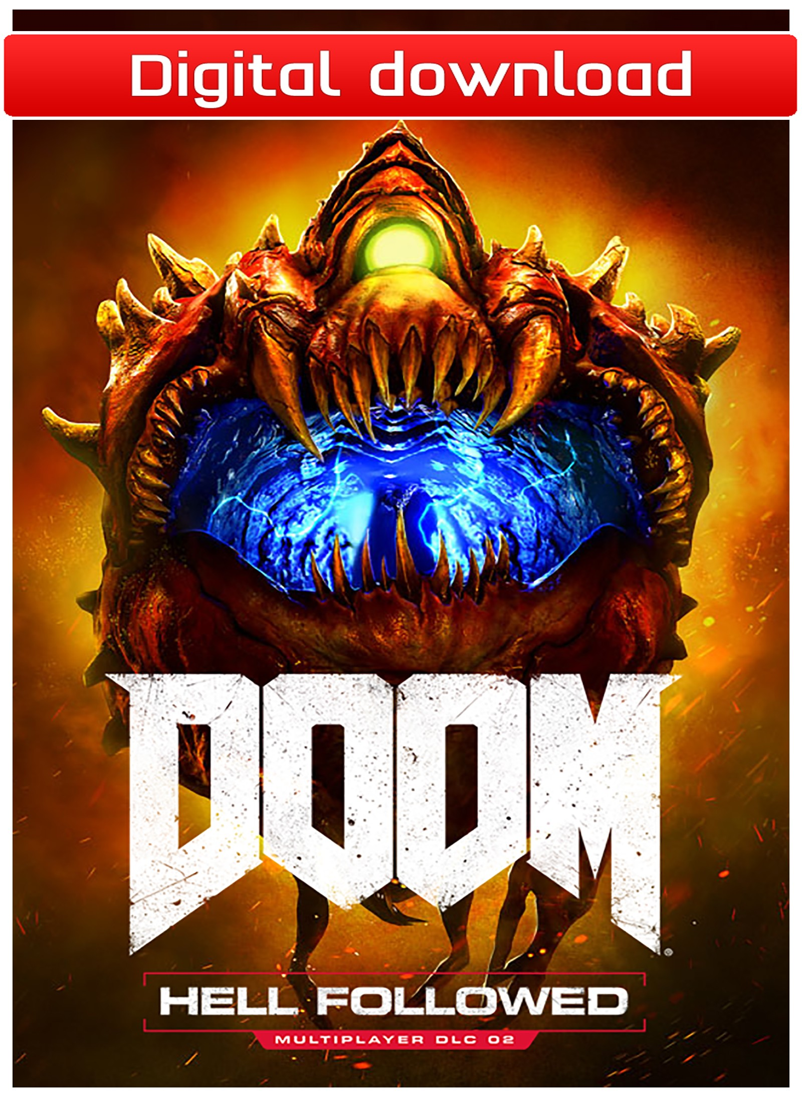 40866 : DOOM - Hell Followed DLC (PC nedlastning)