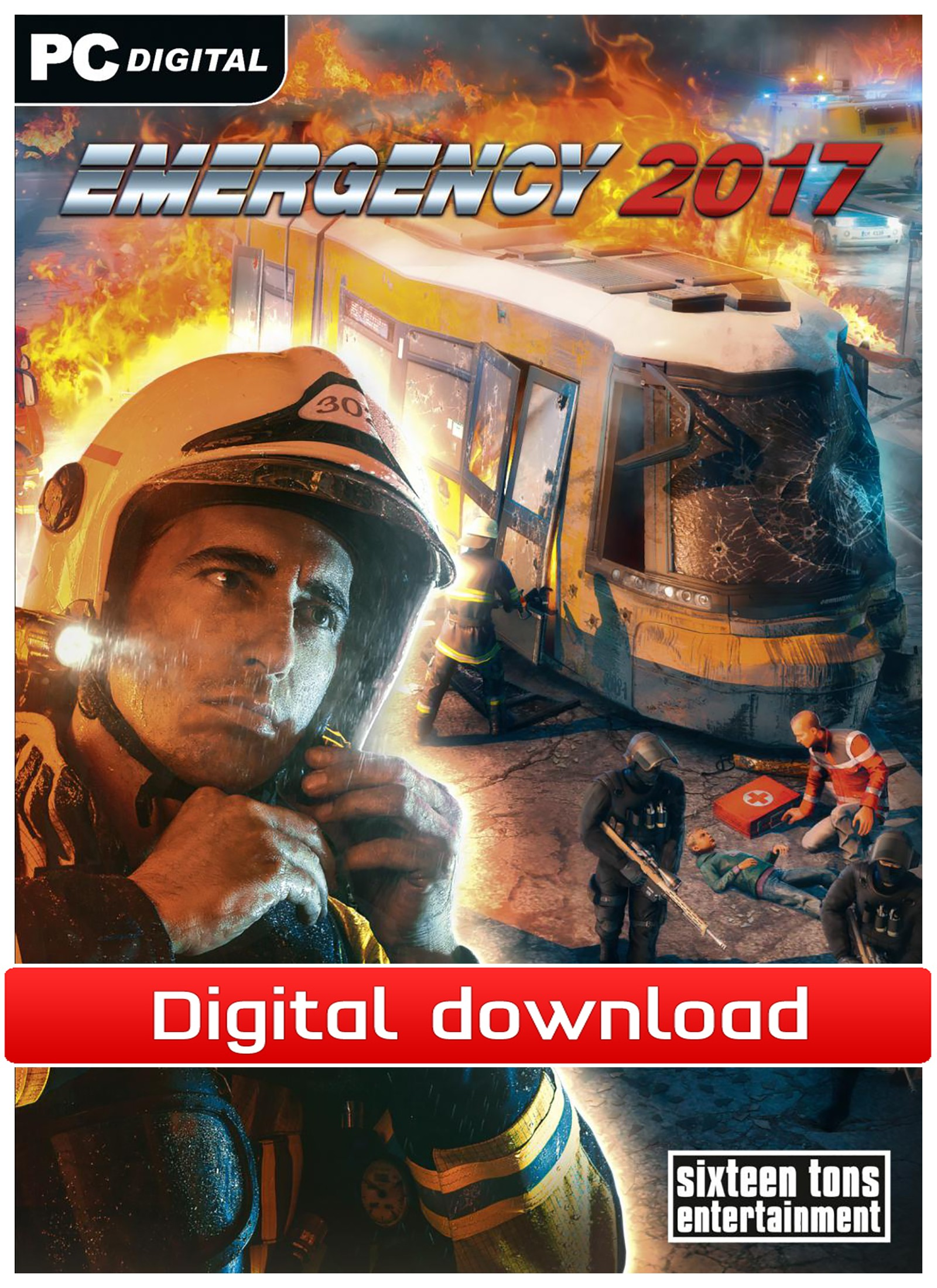 40874 : Emergency 2017 (PC nedlastning)